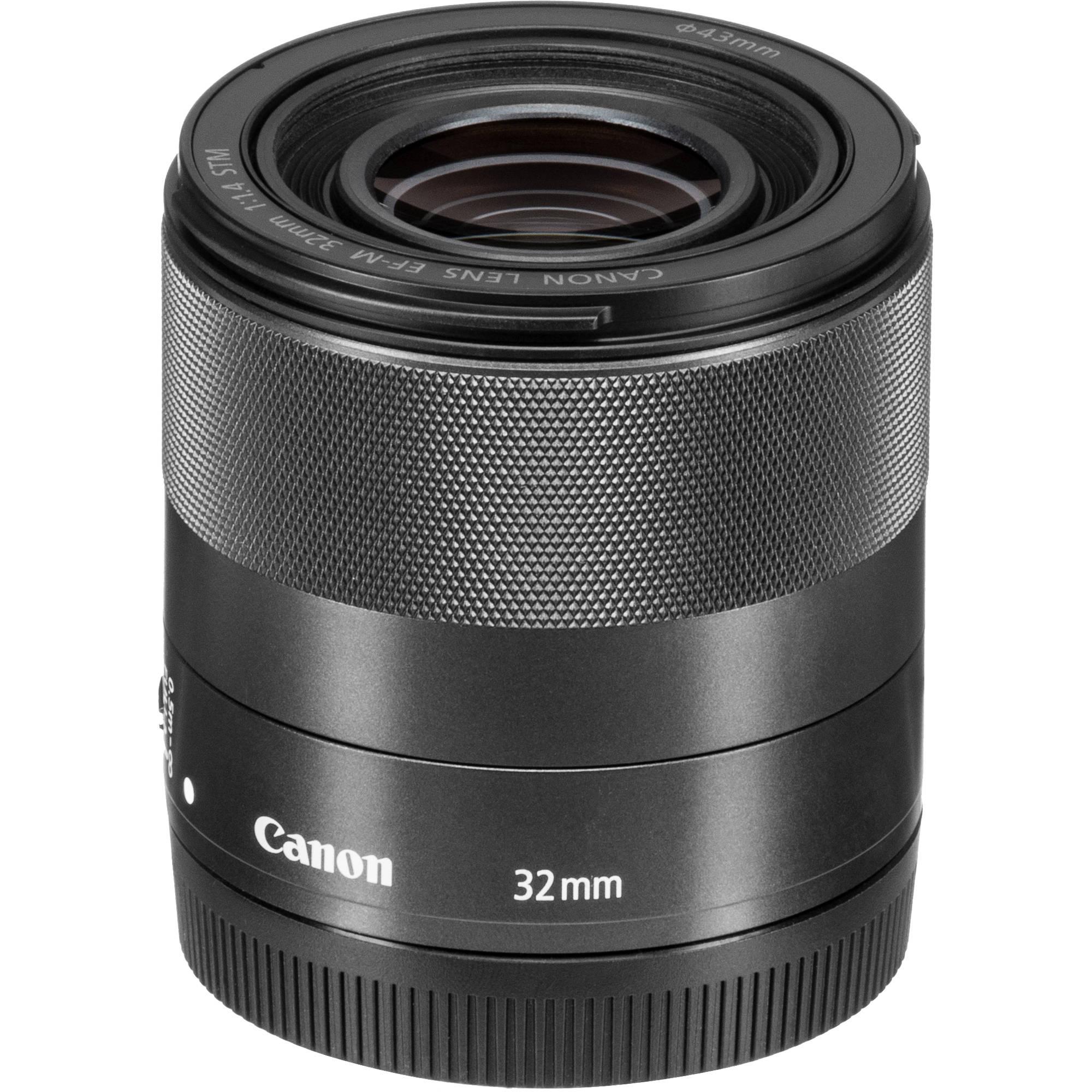 Ø 43mm gran angular oscurecidos para Canon EF-M 32mm 1:1 .4 STM