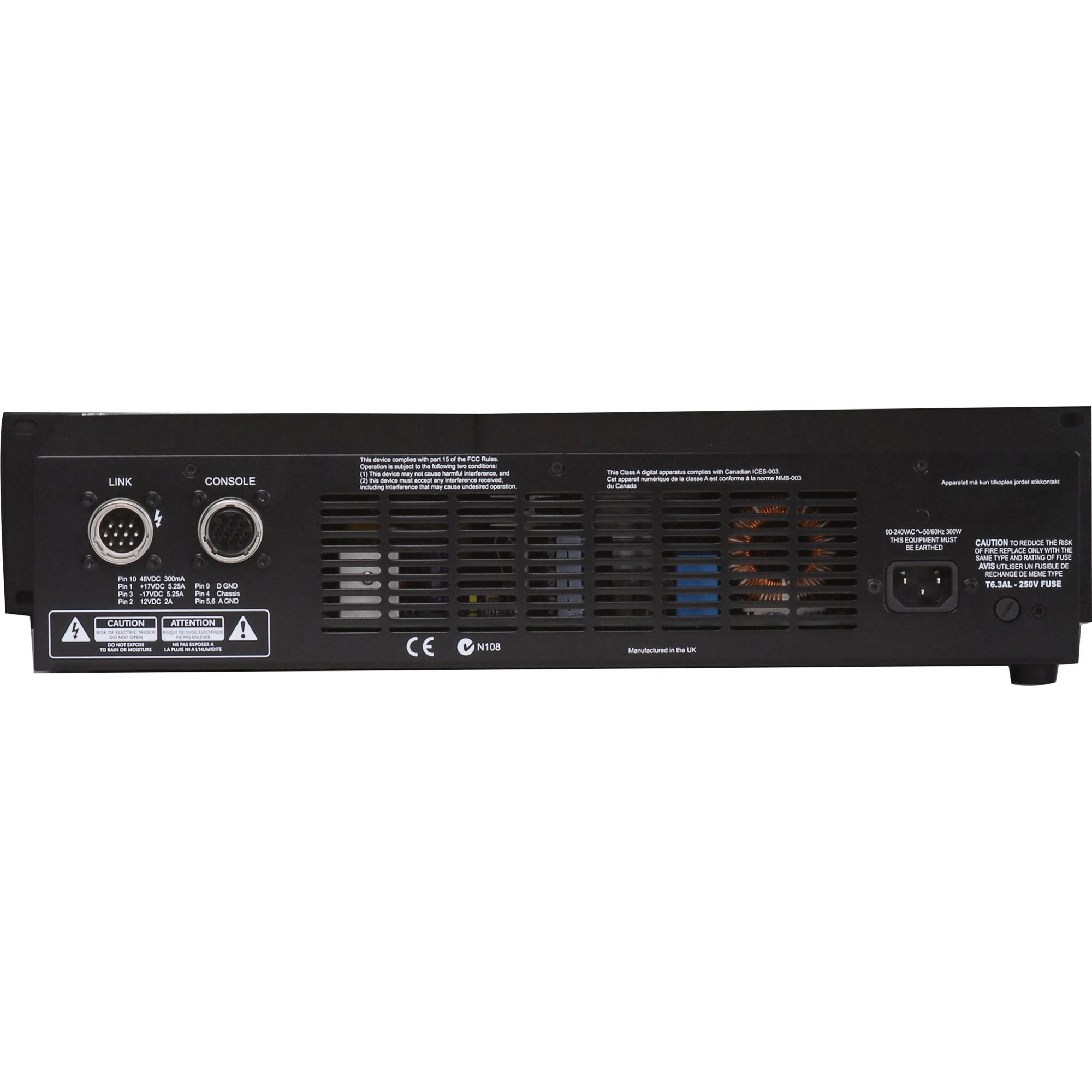 Soundcraft DPS4 Spare External Power Supply for MH2 Mixing Console on
