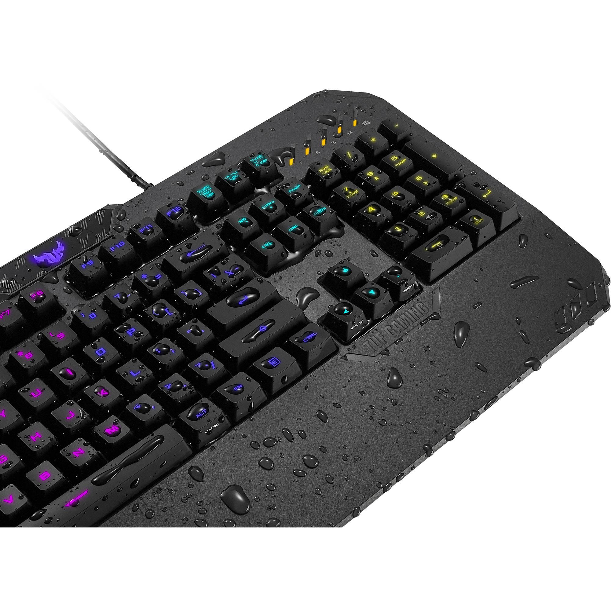 5acfecca9c9 ASUS TUF Gaming K5 Gaming Keyboard RA02 TUF GAMING K5 /US B&H