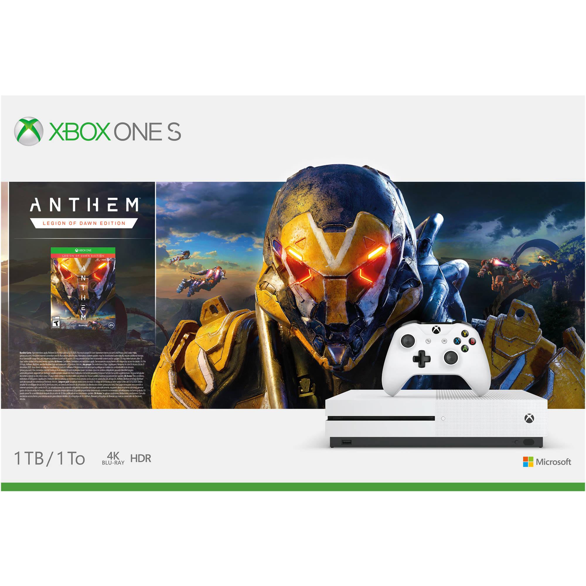 Microsoft Xbox One S Anthem Bundle