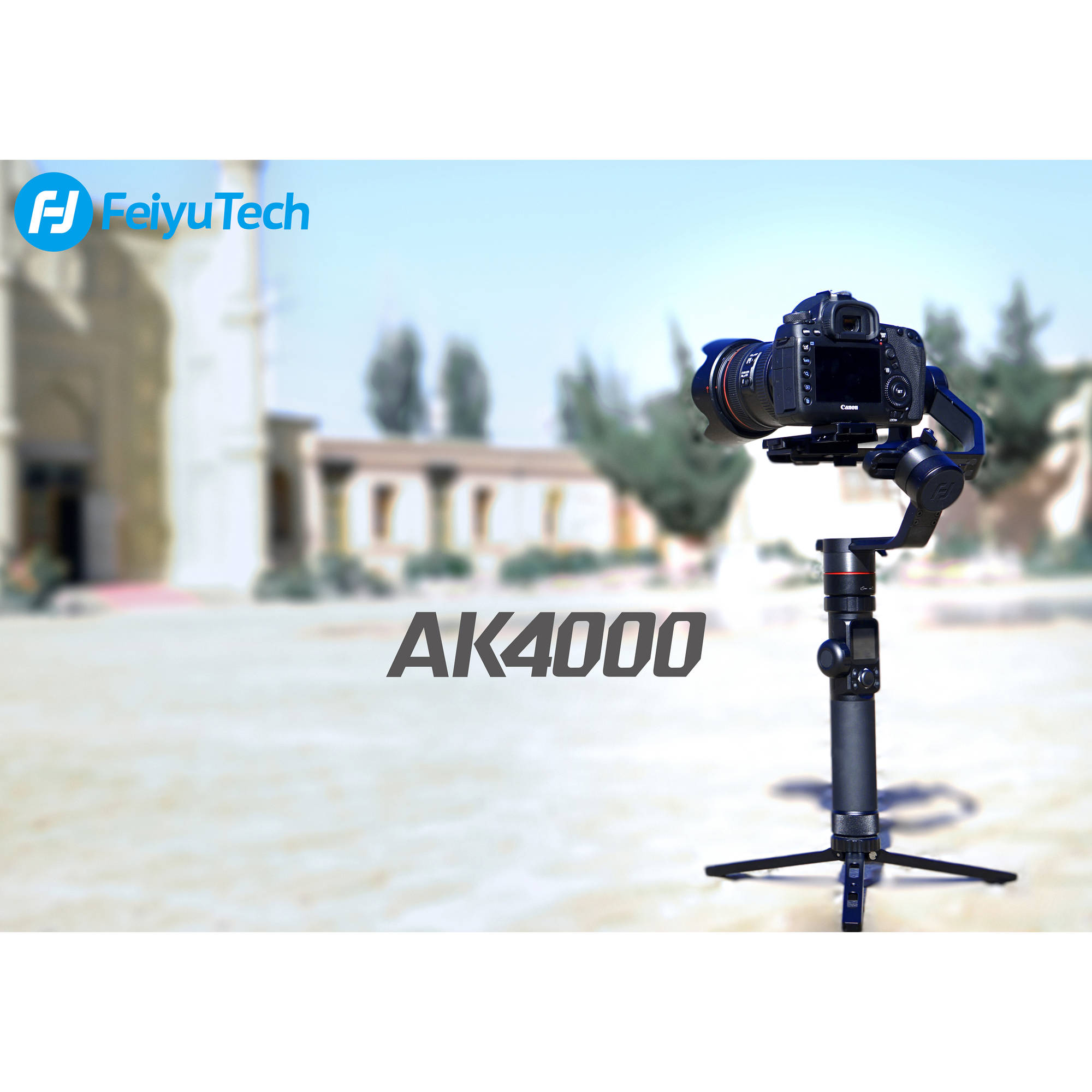 Feiyu AK4000 3-Axis Gimbal Stabilizer on