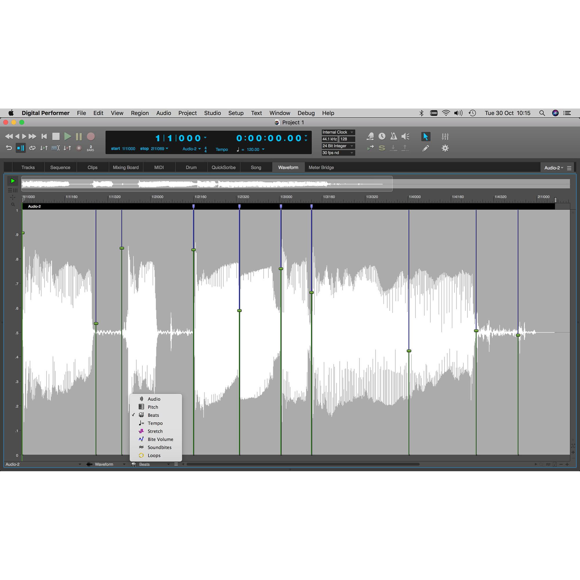 MOTU Digital Performer 10 - Audio/MIDI Music Production Software (Academic)