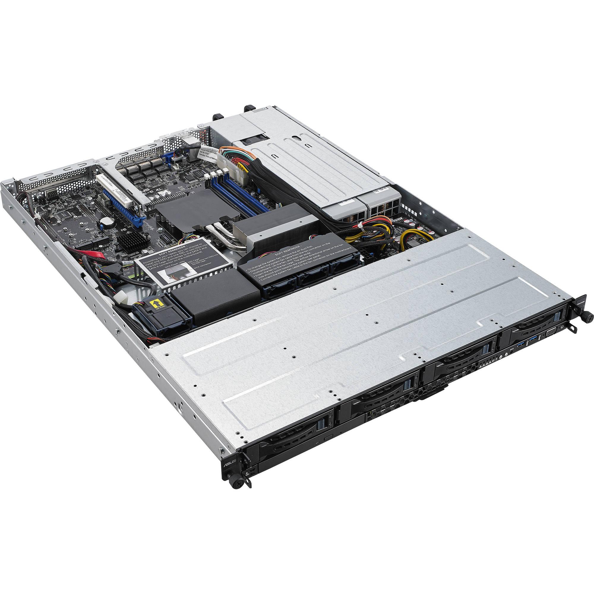 ASUS Intel Xeon E Rack-Optimized 1U Server