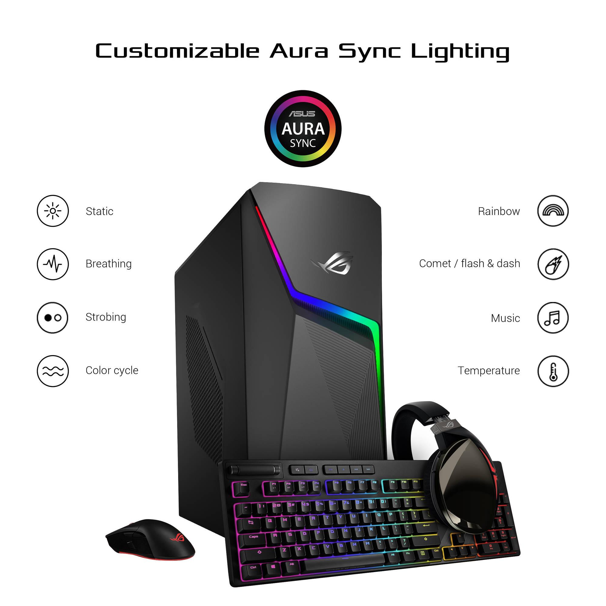 ASUS Republic of Gamers Strix GL10CS Gaming Desktop