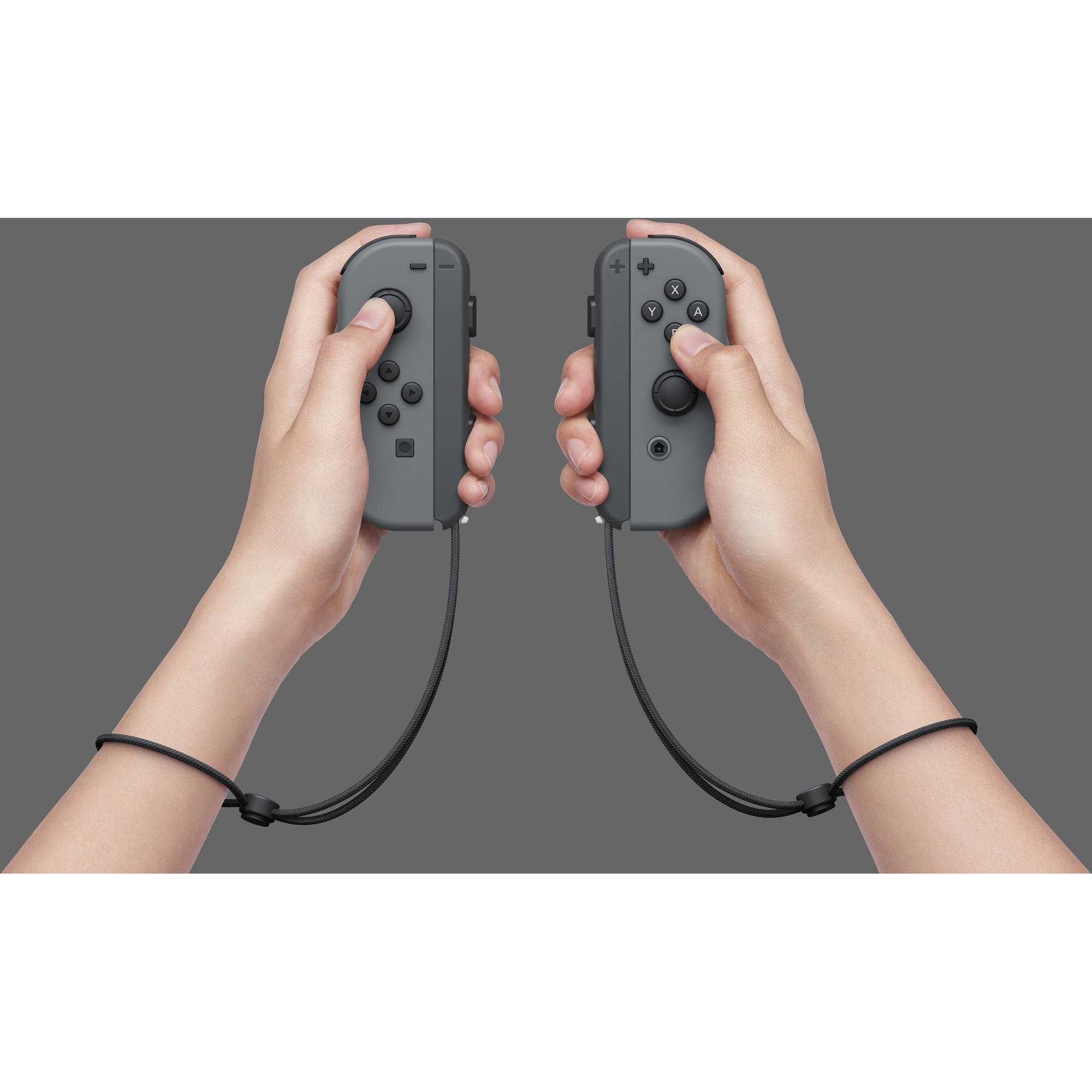 Nintendo Switch with Gray Controllers (2019)