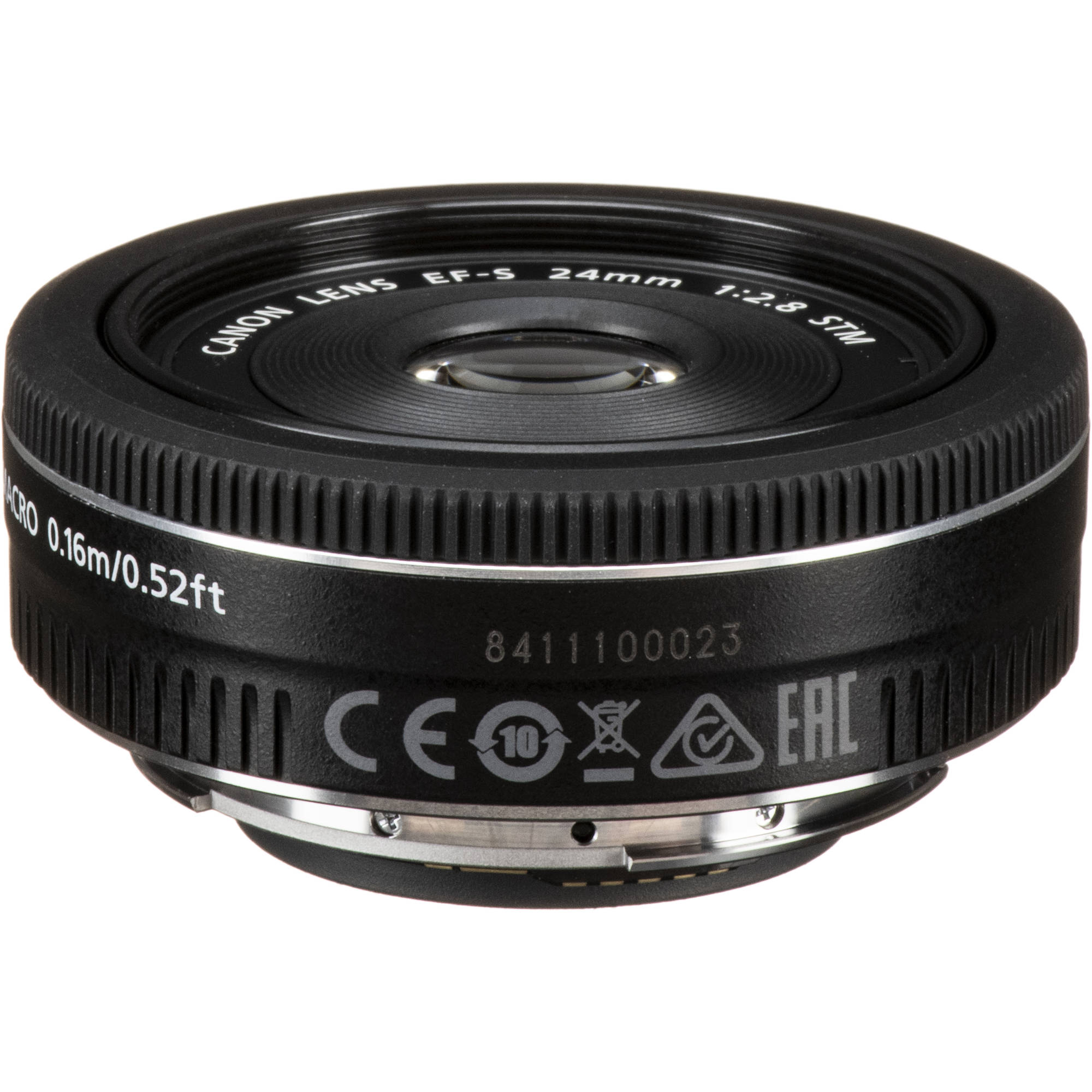 Canon EF-S 24mm f//2.8 STM Lens Lens Cap Holder Pouch 52mm UV Filter