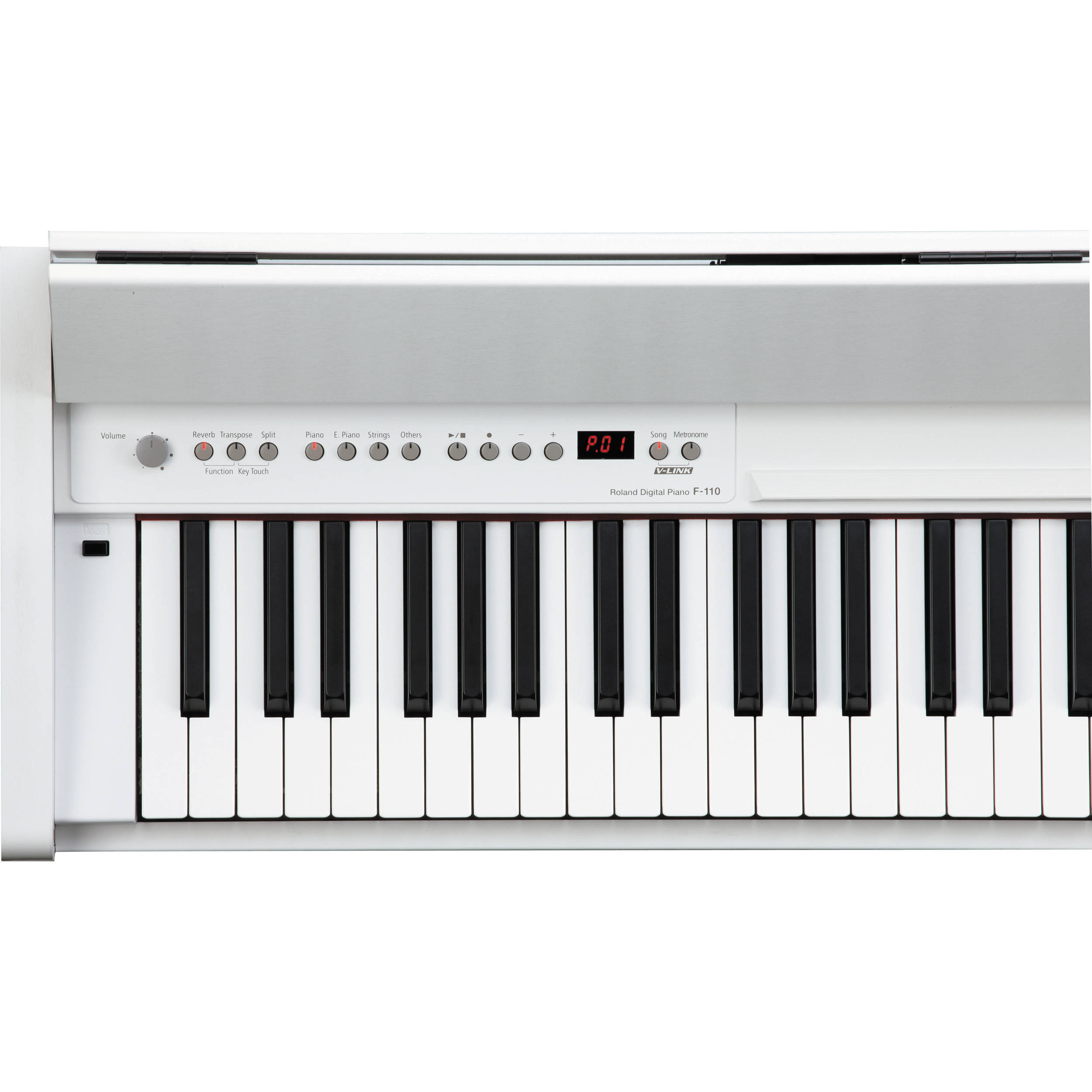 Roland F-110 - Digital Piano (Satin White)