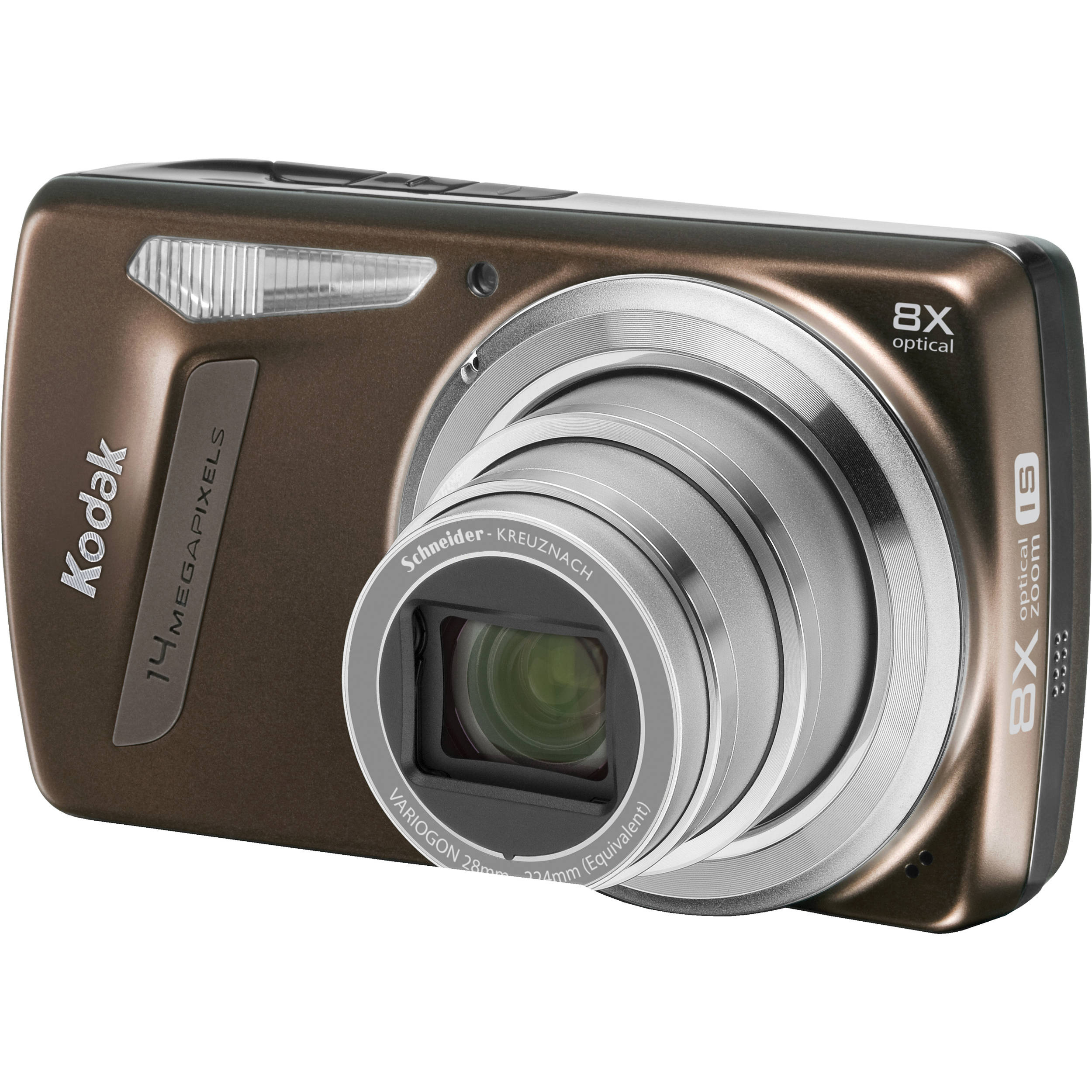 Kodak EasyShare M580 Digital Camera (Brown)