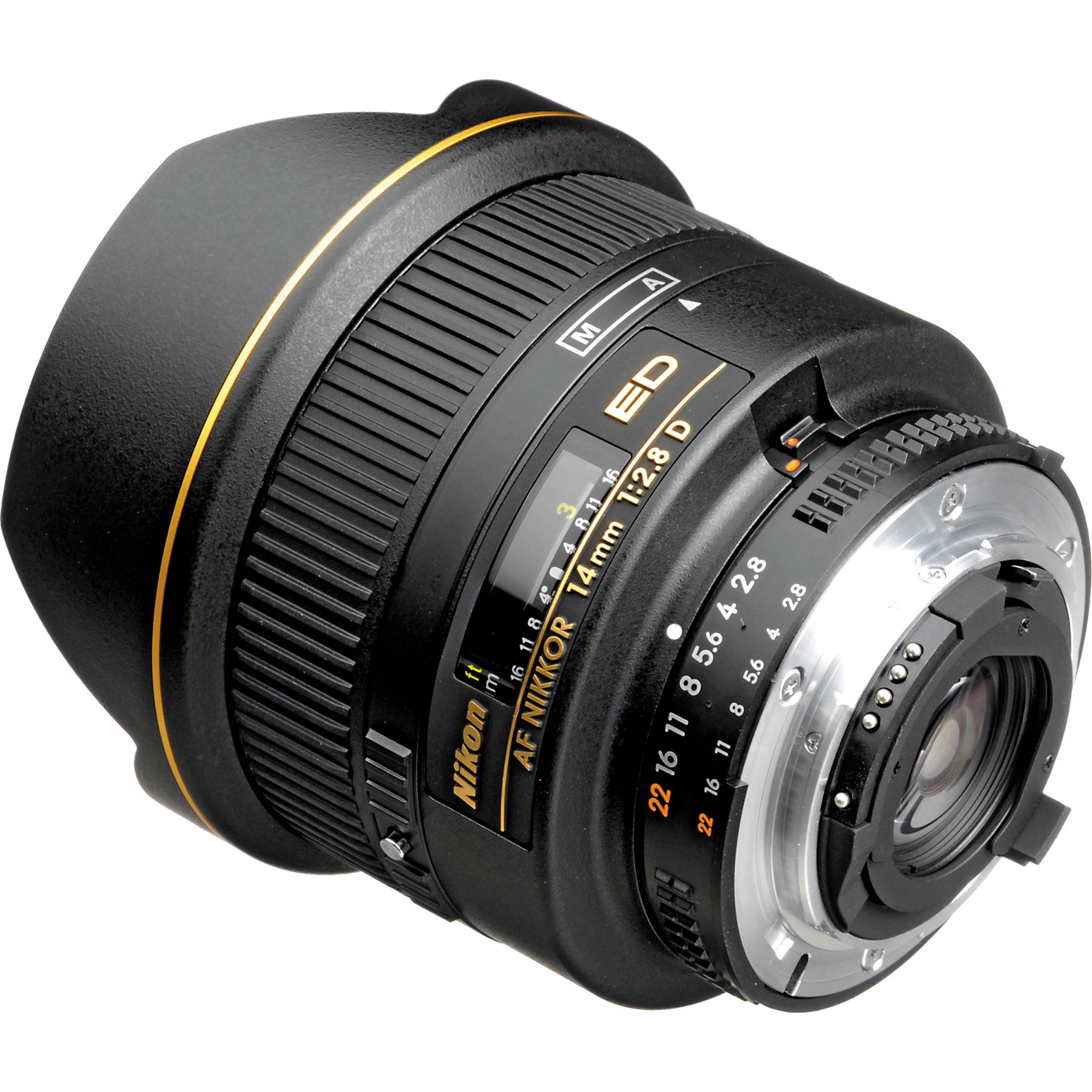 Nikon Af Nikkor 14mm F 2 8d Ed Lens 1925 B H Photo Video