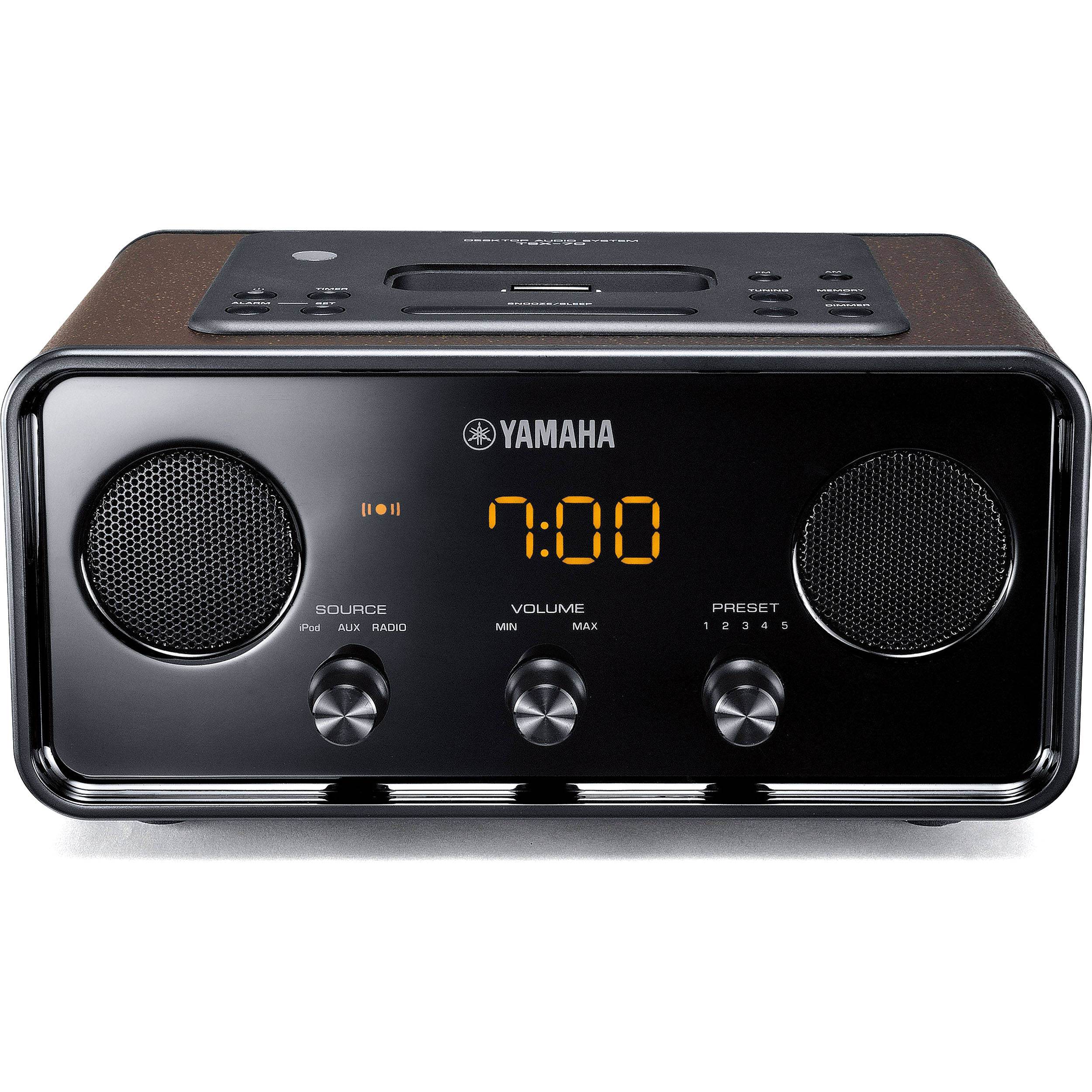 Yamaha TSX-70 iPod Dock (Brown)