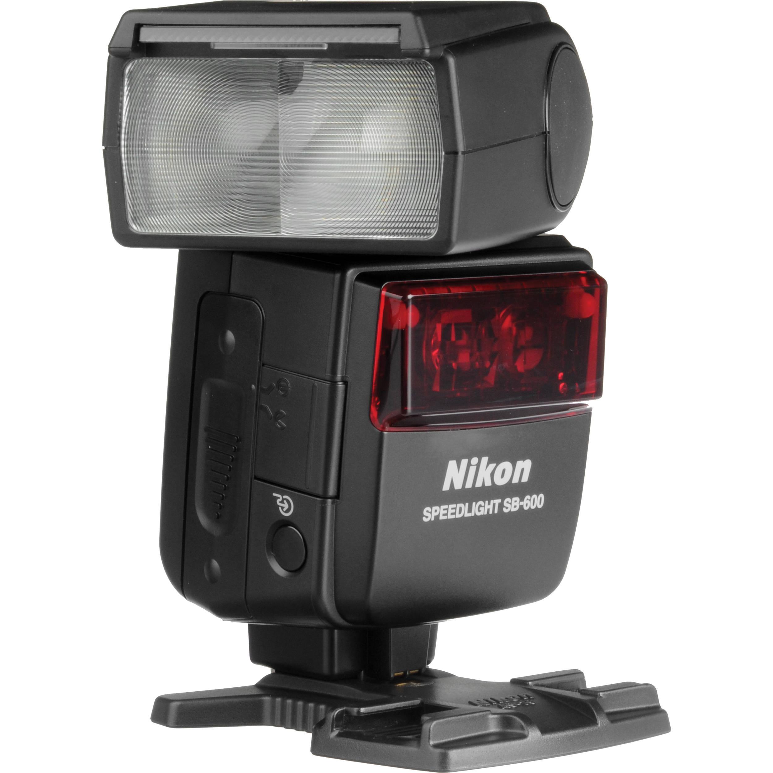 Manual Nikon SB-600 Speedlight Instruction Book User Guide