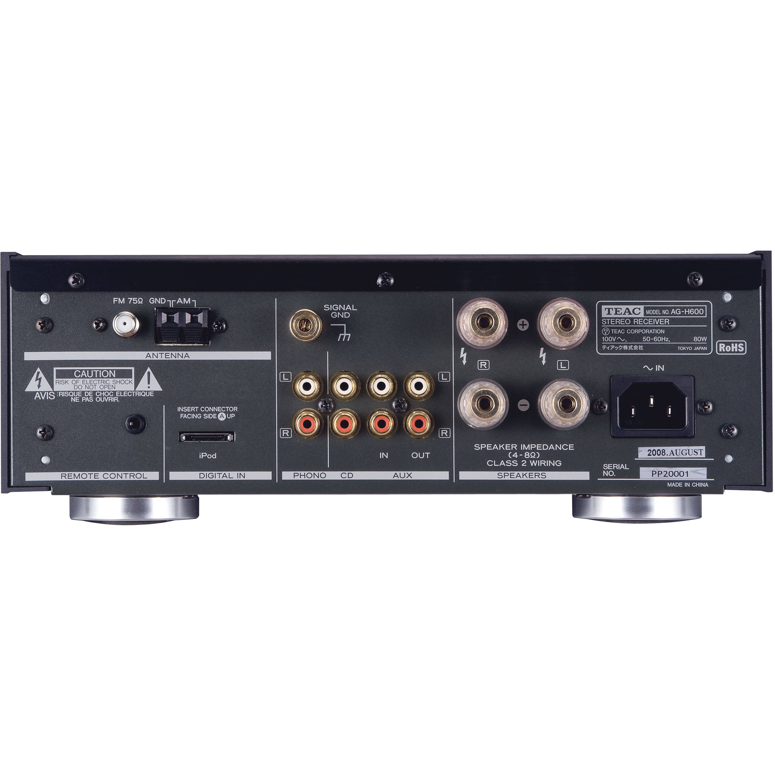 Teac AG-H600NT Stereo Receiver with Internet Radio AG-H600NT B&H