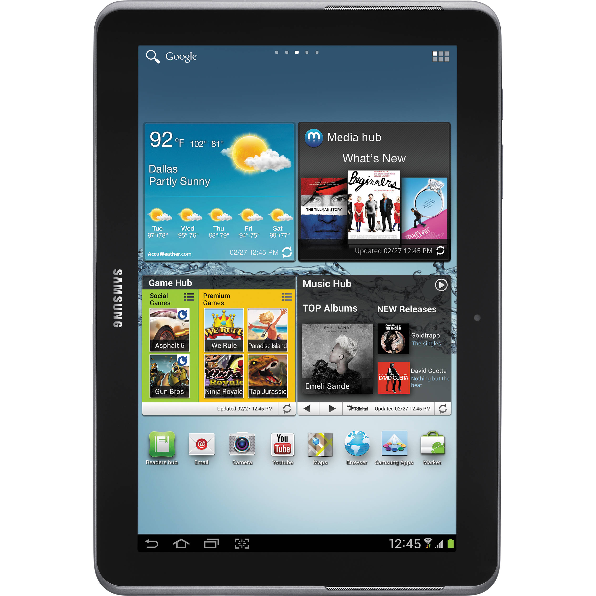 Samsung 16GB Galaxy Tab 2 10 1