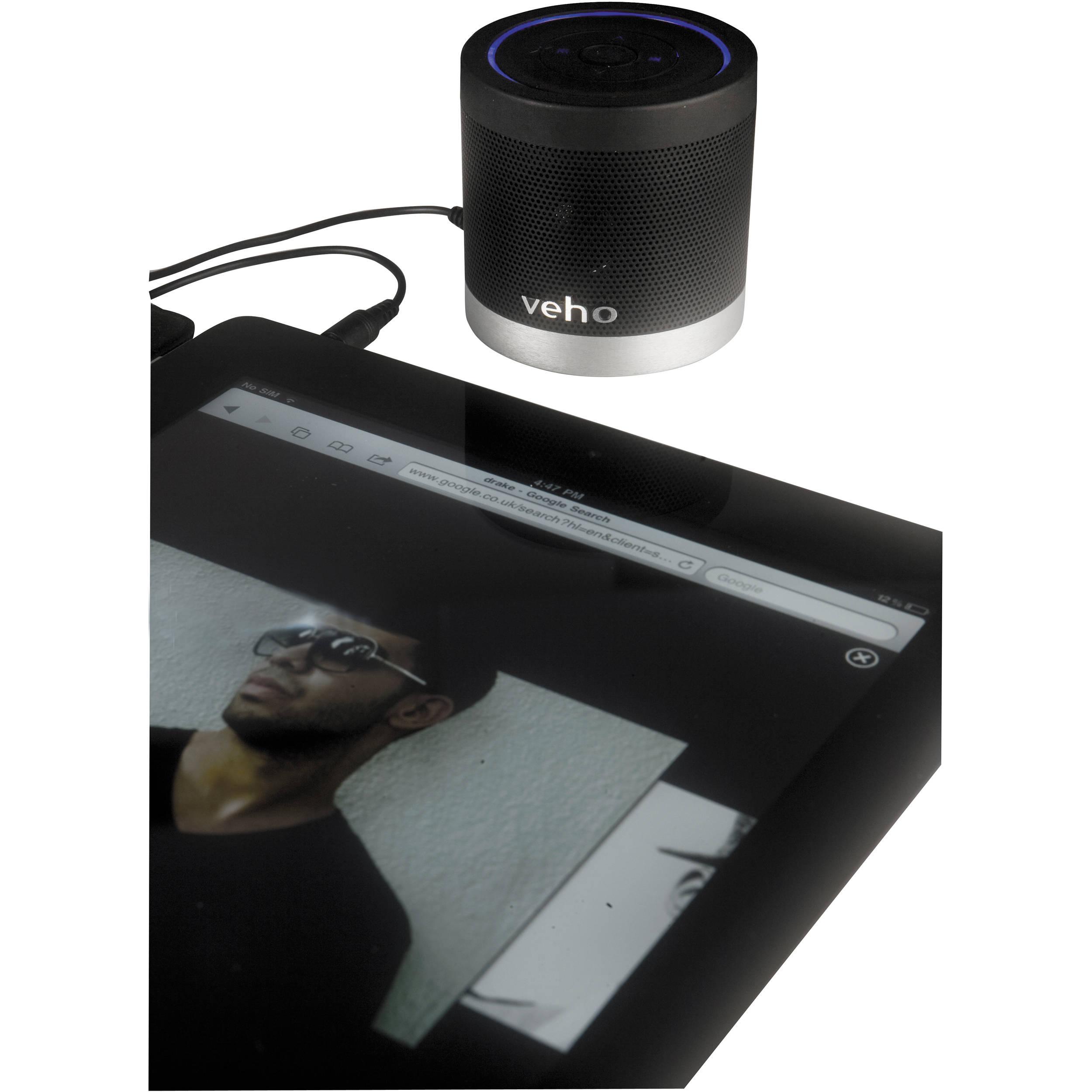 Veho 360 M4 Portable Bluetooth Wireless Speaker Black VSS-009-360BT