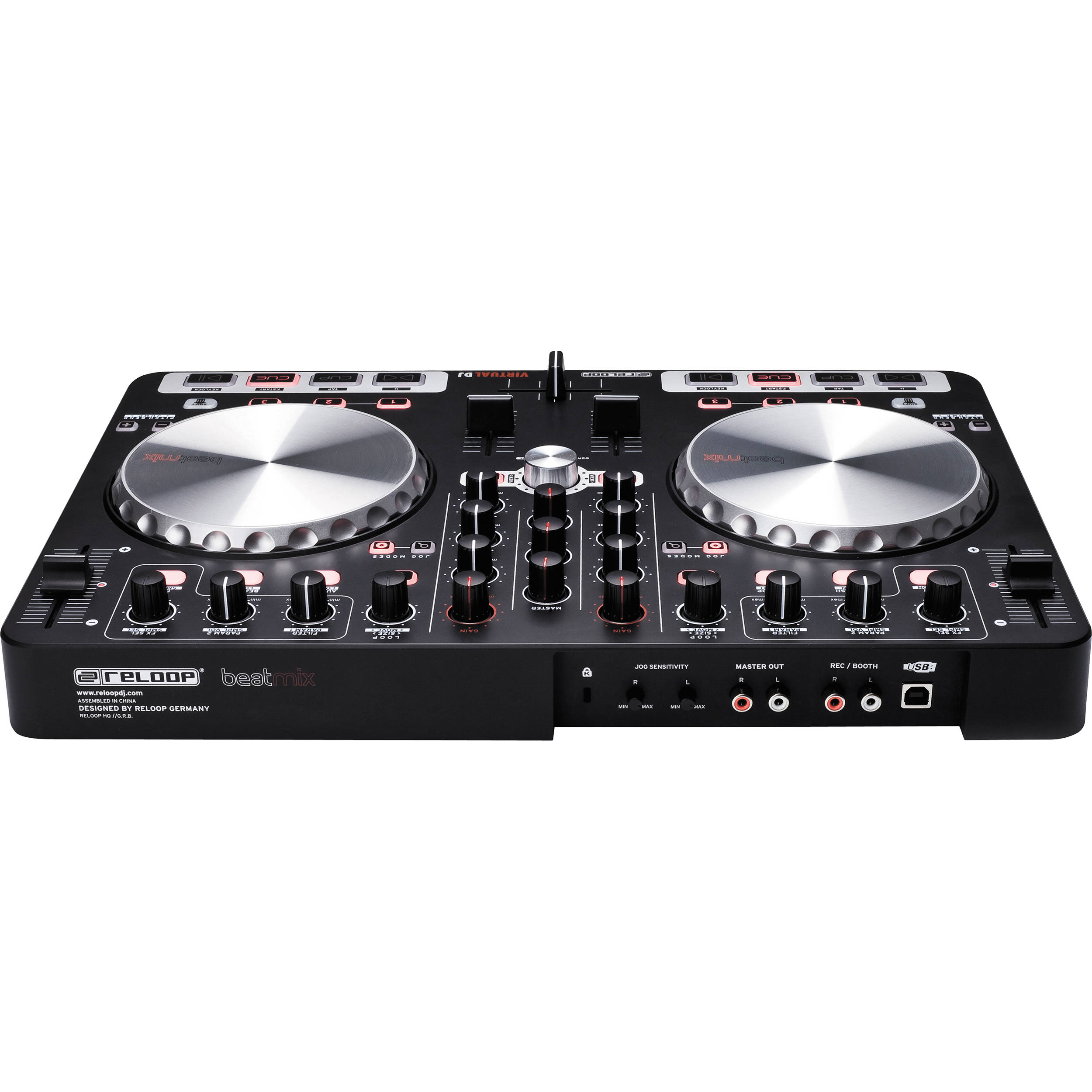 Reloop BeatMix DJ Controller for Virtual DJ Software Platform