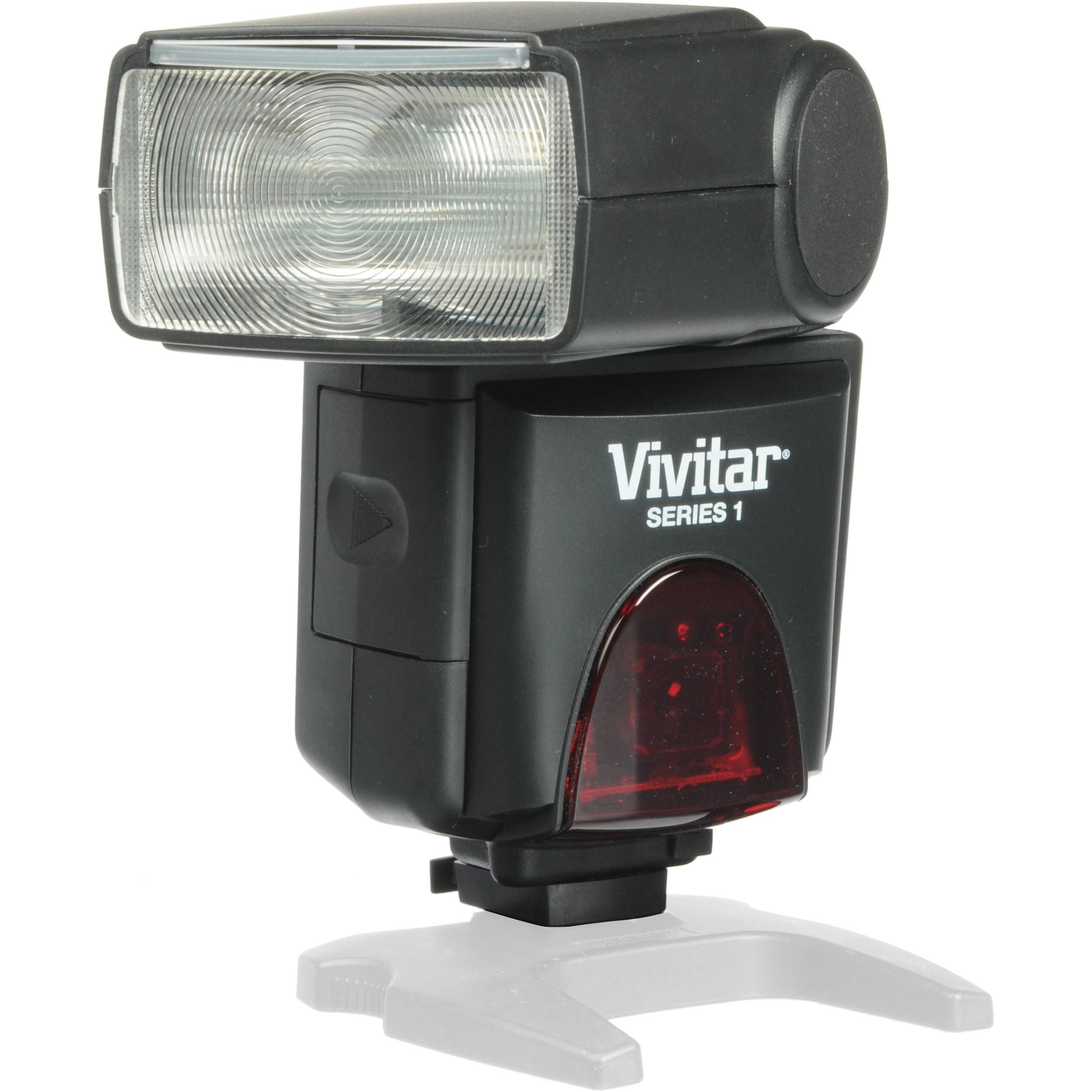 Vivitar FCCAN Flash Cord for Canon Digital Cameras Black