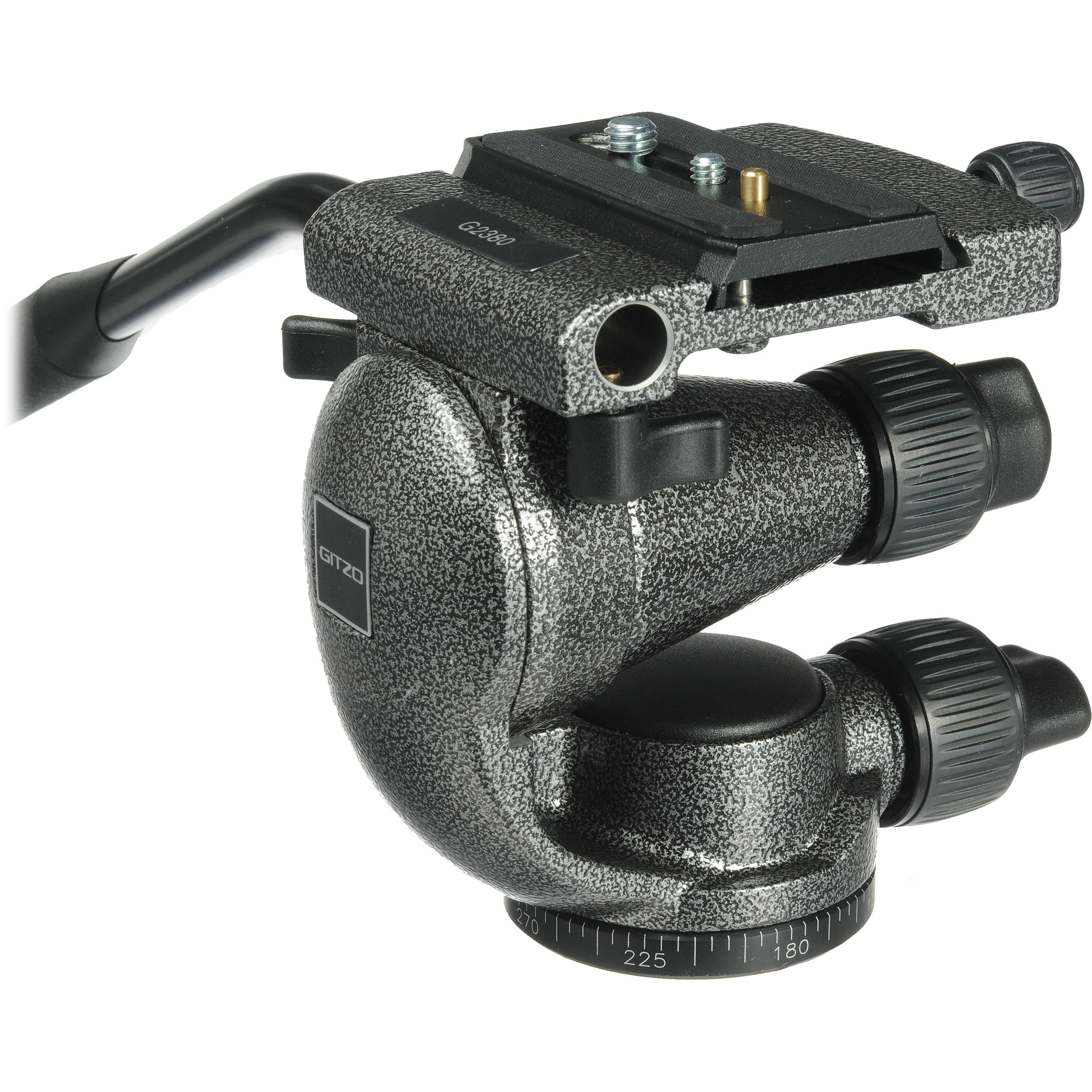 Gitzo G2380 2 Series Pro Video Fluid Head with Quick Release Plate