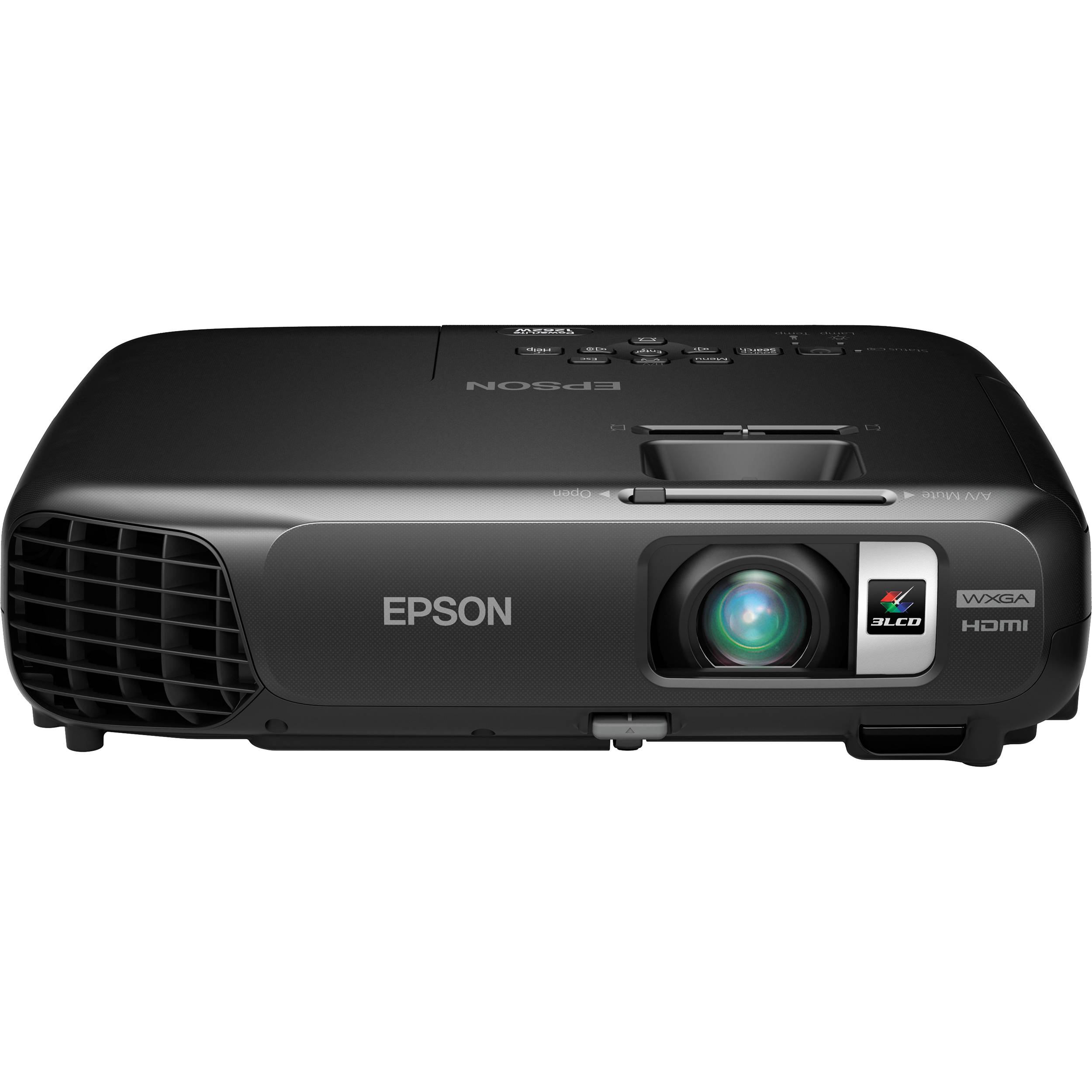Epson PowerLite 1262W 3LCD Projector