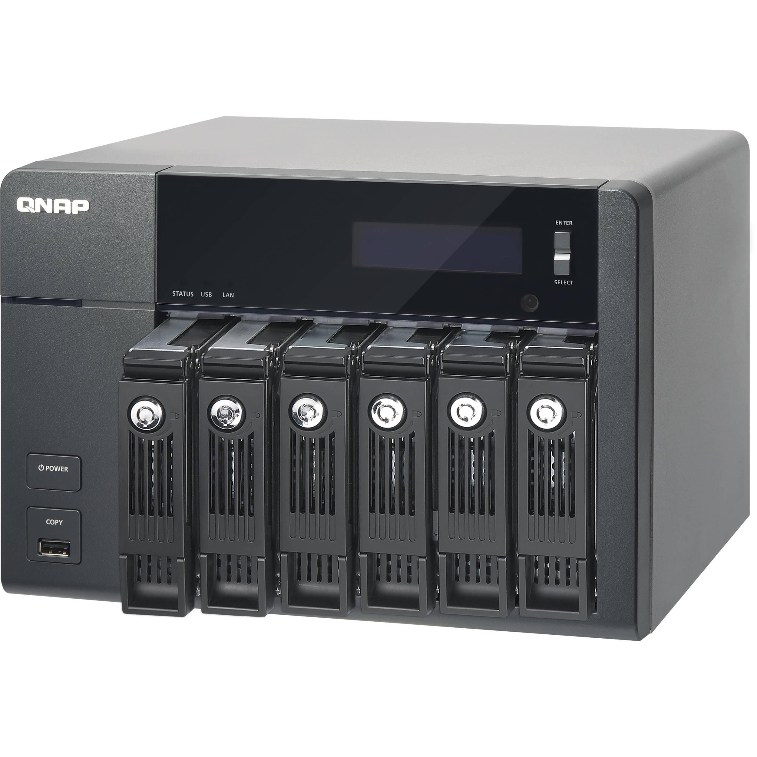 QNAP TS-670 6-Bay High Performance NAS for SMB