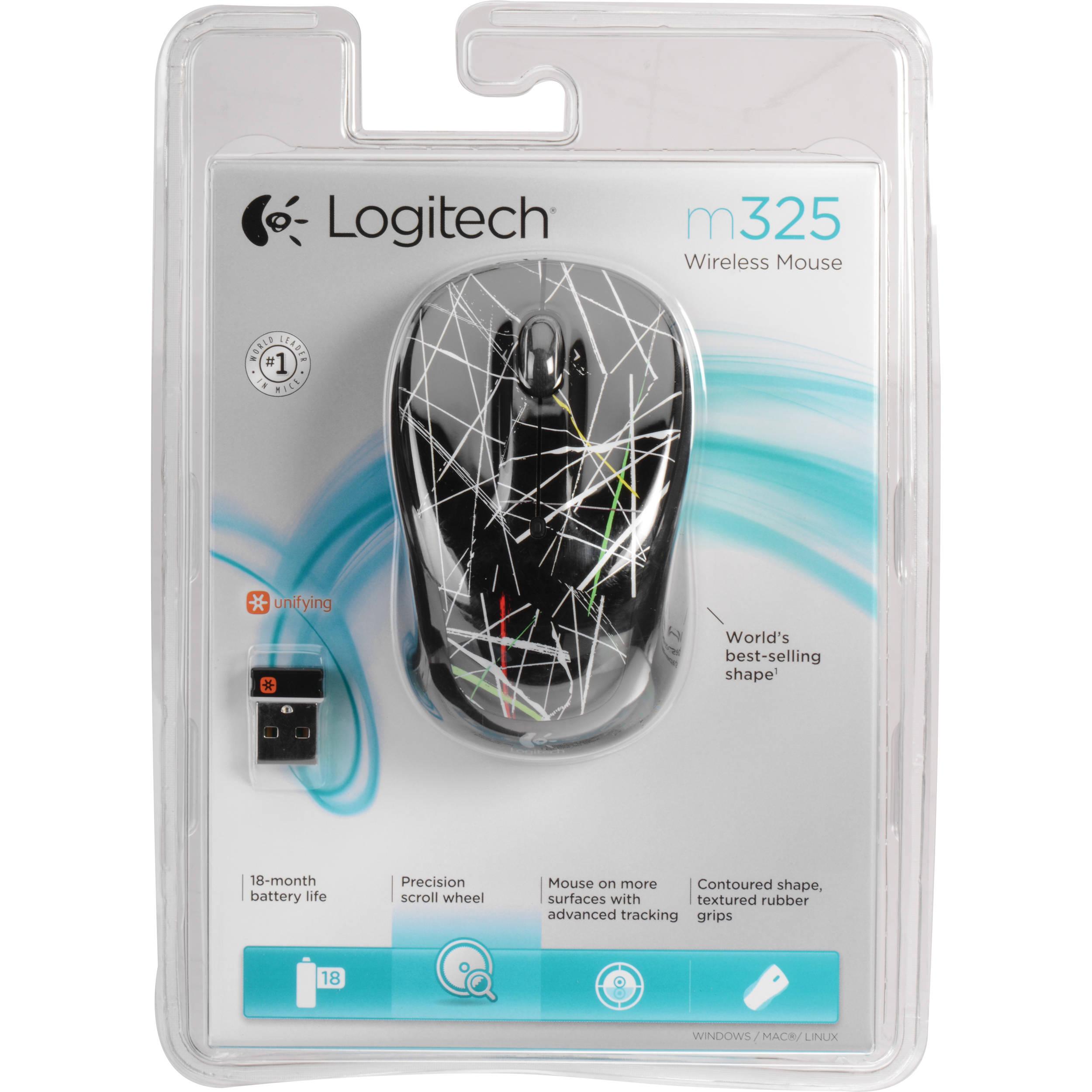 Logitech Wireless Mouse M325 (Laser Show)