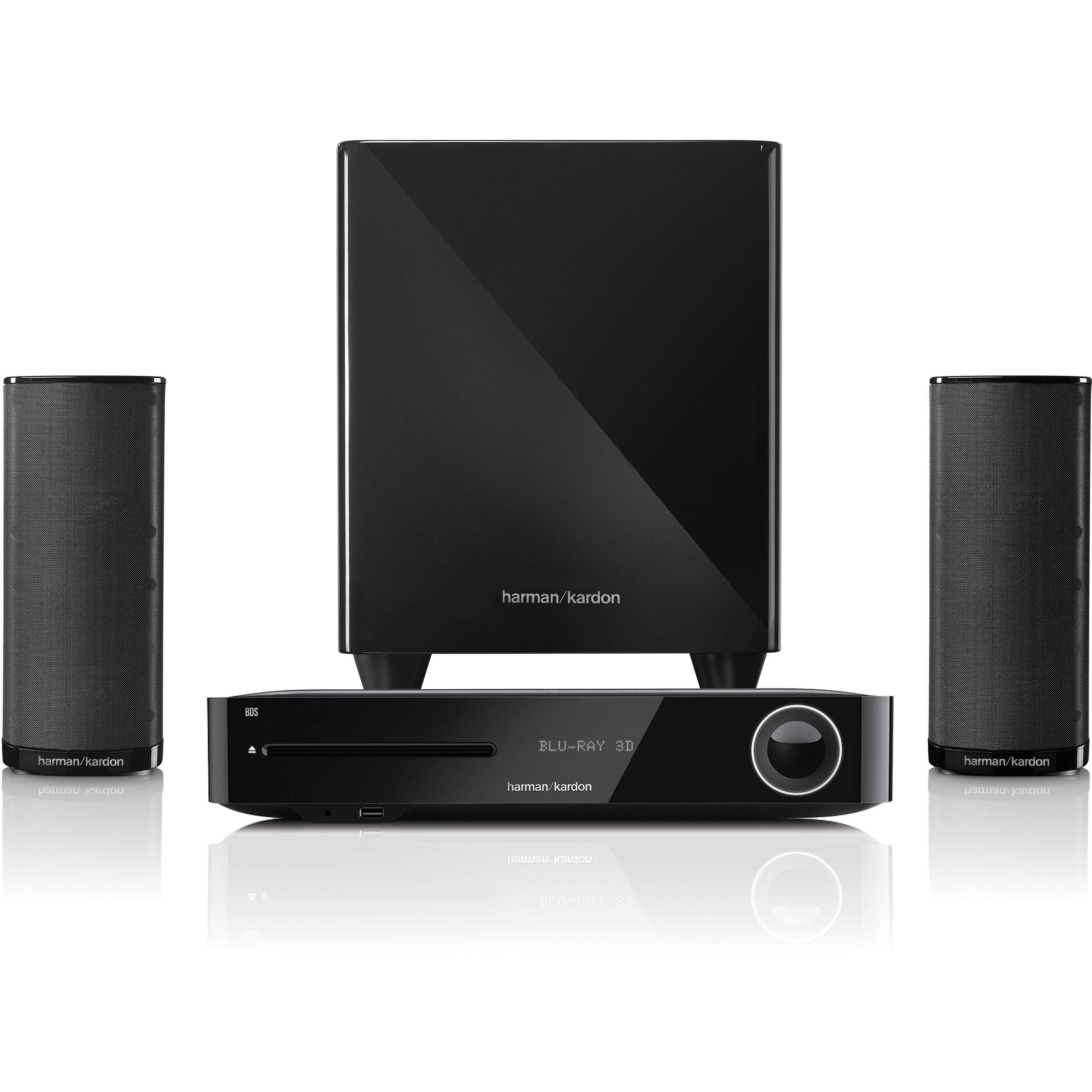 Harman Kardon Bds 280.Harman Kardon Bds 380 High Performance 2 1 Channel Networked 3d Blu Ray Disc System