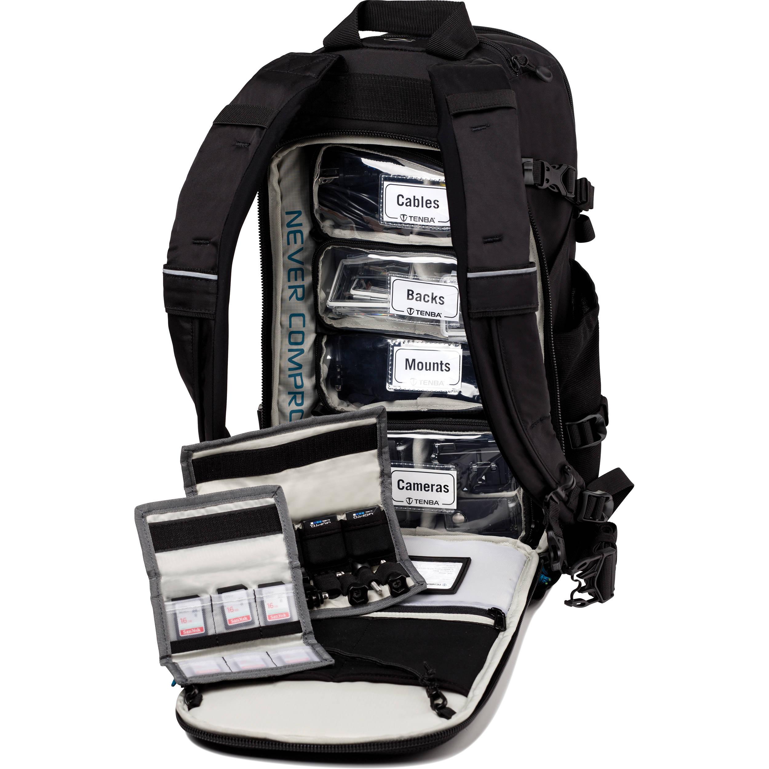 Black Tenba 632-451 ActionPack for GoPro