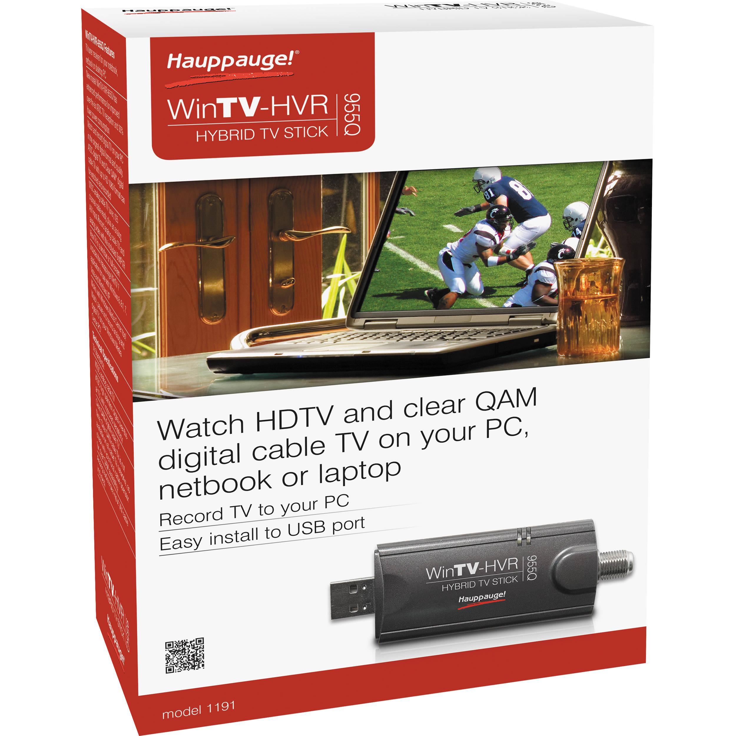 DRIVERS UPDATE: HAUPPAUGE WINTV-HVR-950Q TV TUNER CARD