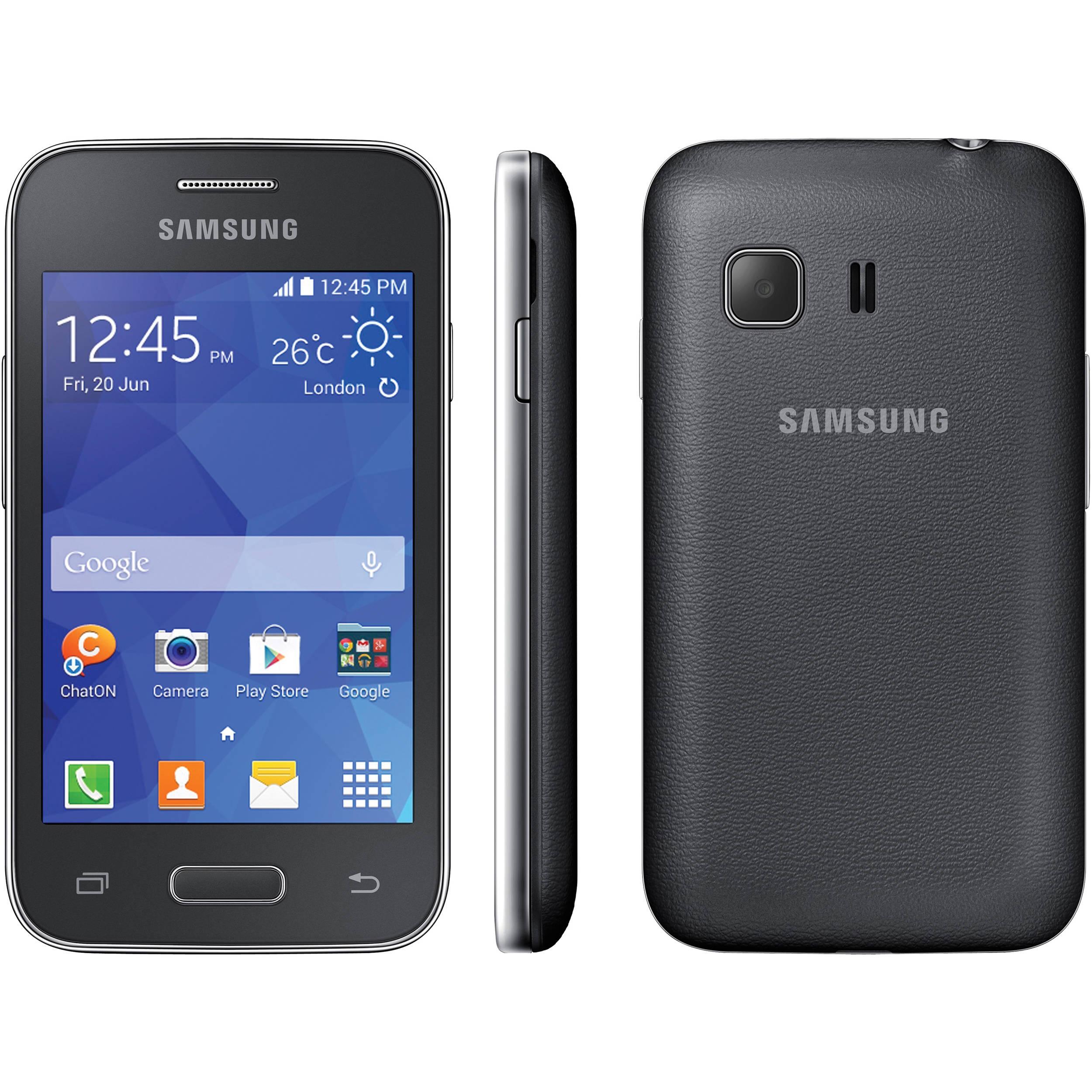Samsung Galaxy Young 2 Duos SM-G130 4GB Smartphone (Iris Charcoal, Unlocked)