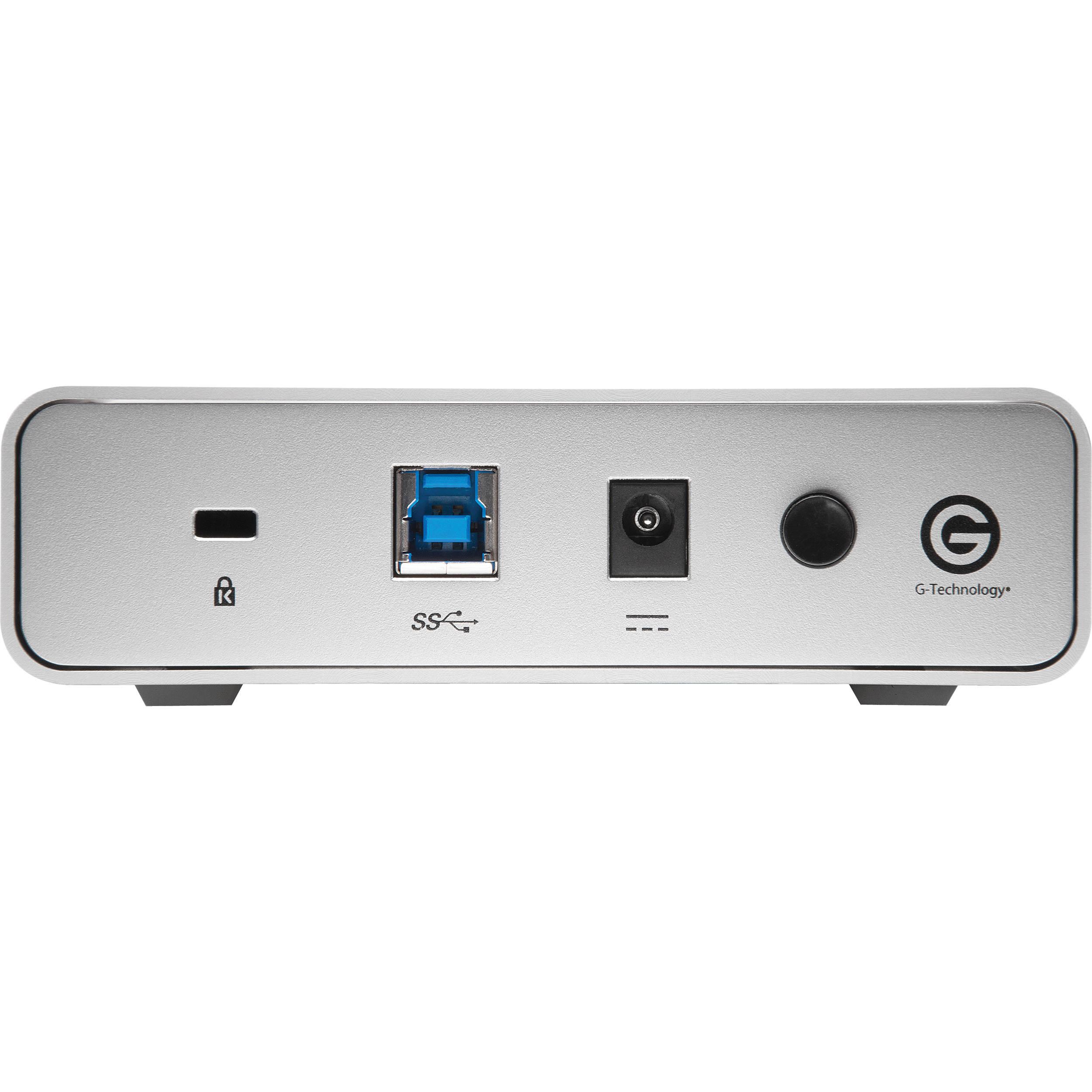 G-Technology 6TB G-DRIVE USB G1 USB 3 0 Hard Drive