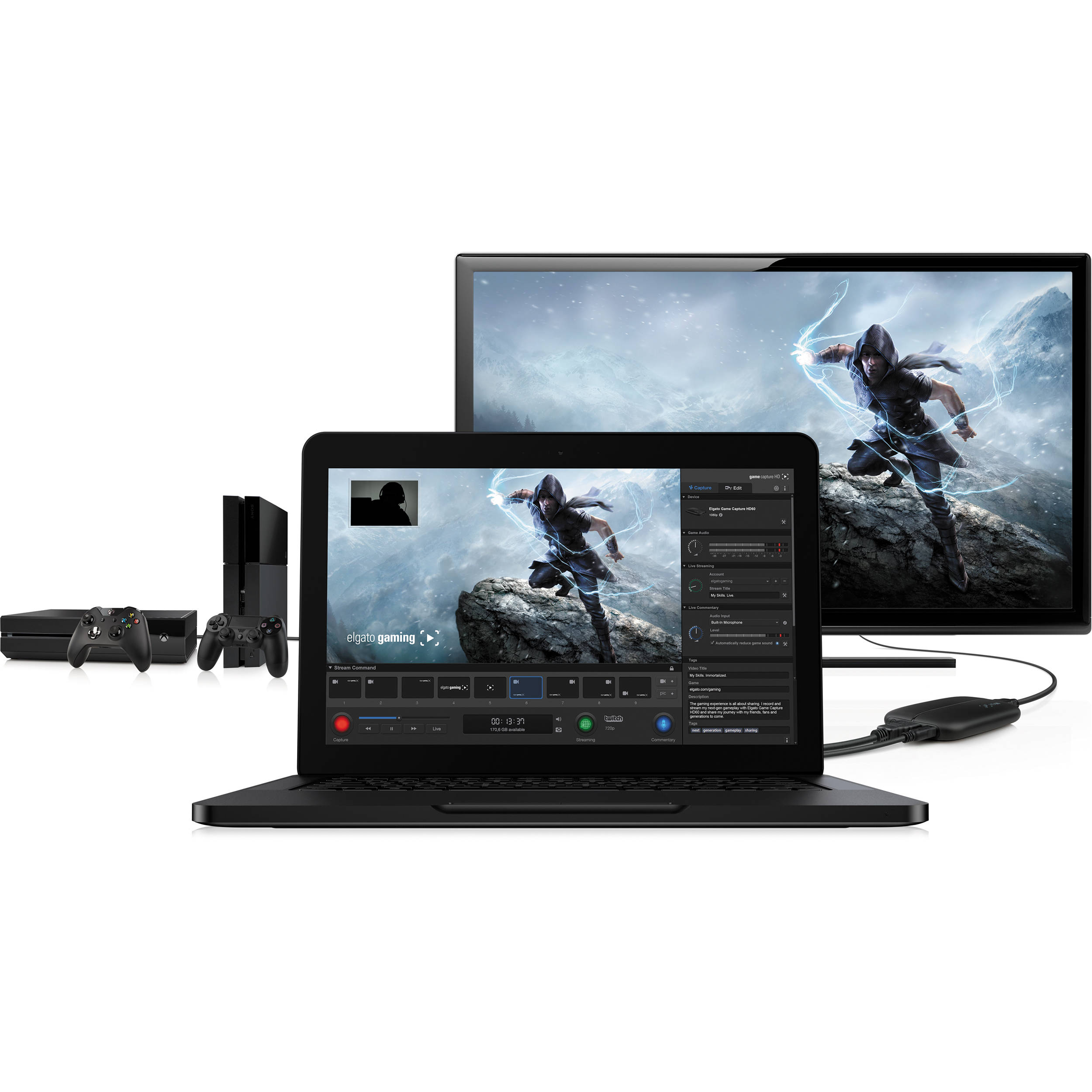 Elgato Game Capture HD60 High Definition Game Recorder
