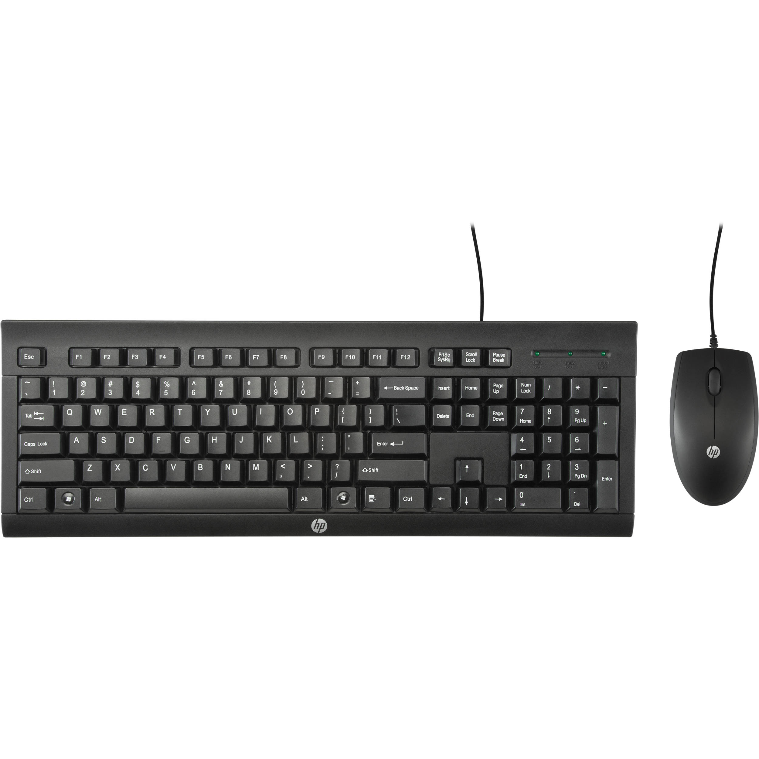 HP C2500 Desktop Keyboard and Mouse