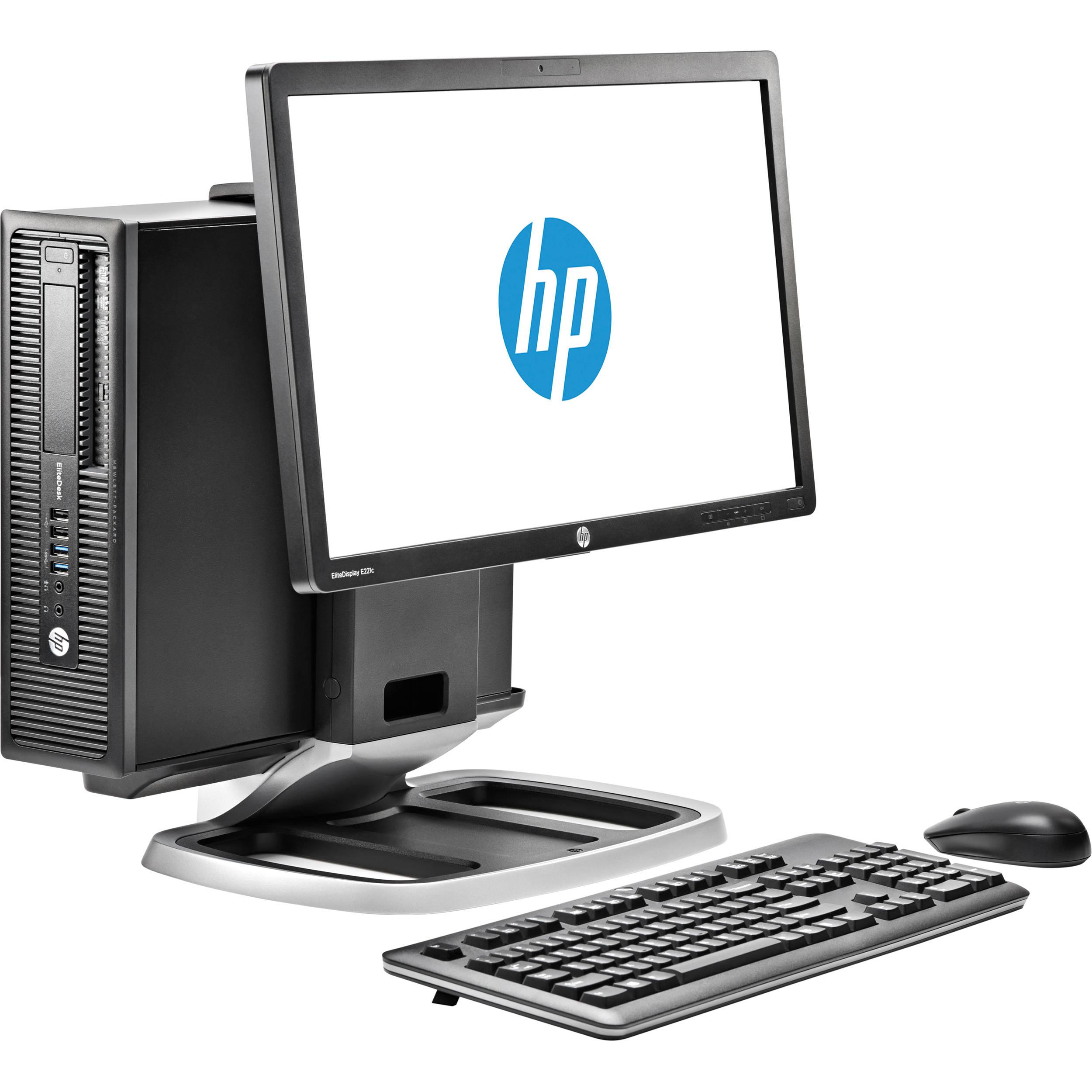 HP EliteDesk 800 G1 J6D83UT Small Form Factor Desktop Computer