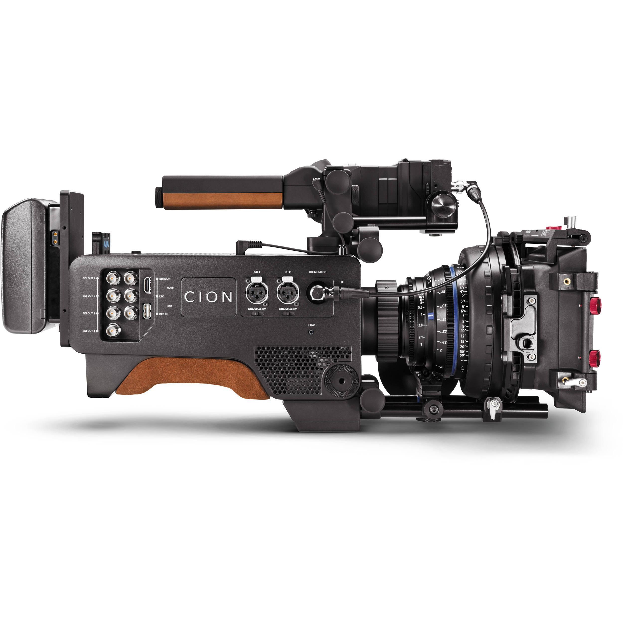 AJA CION 4K/UHD and 2K/HD Production Camera