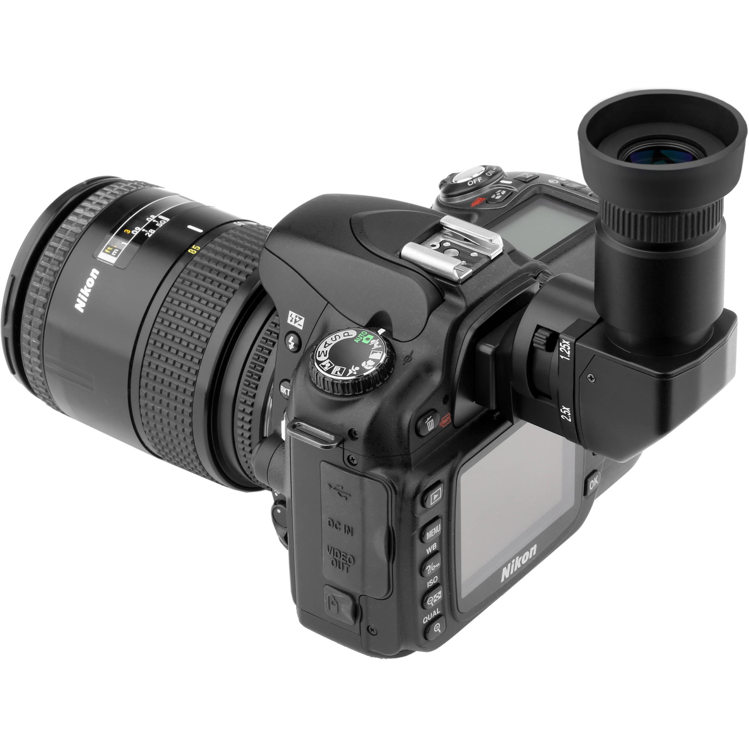 Canon and Pentax Cameras Ziv Right Angle Viewfinder for Select Nikon Leica