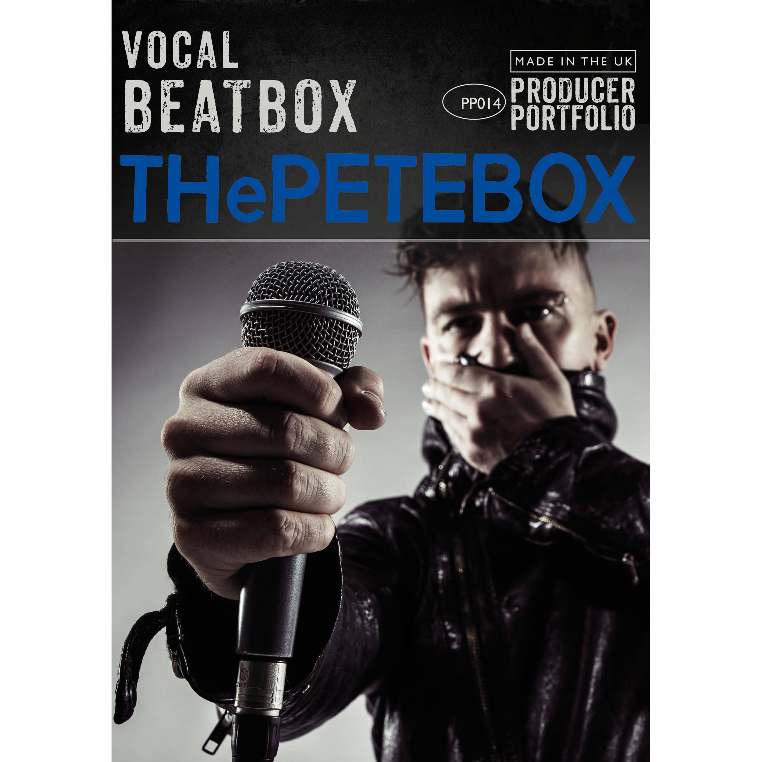 Spitfire Audio Vocal Beatbox THePETEBOX - Virtual Instrument (Download)