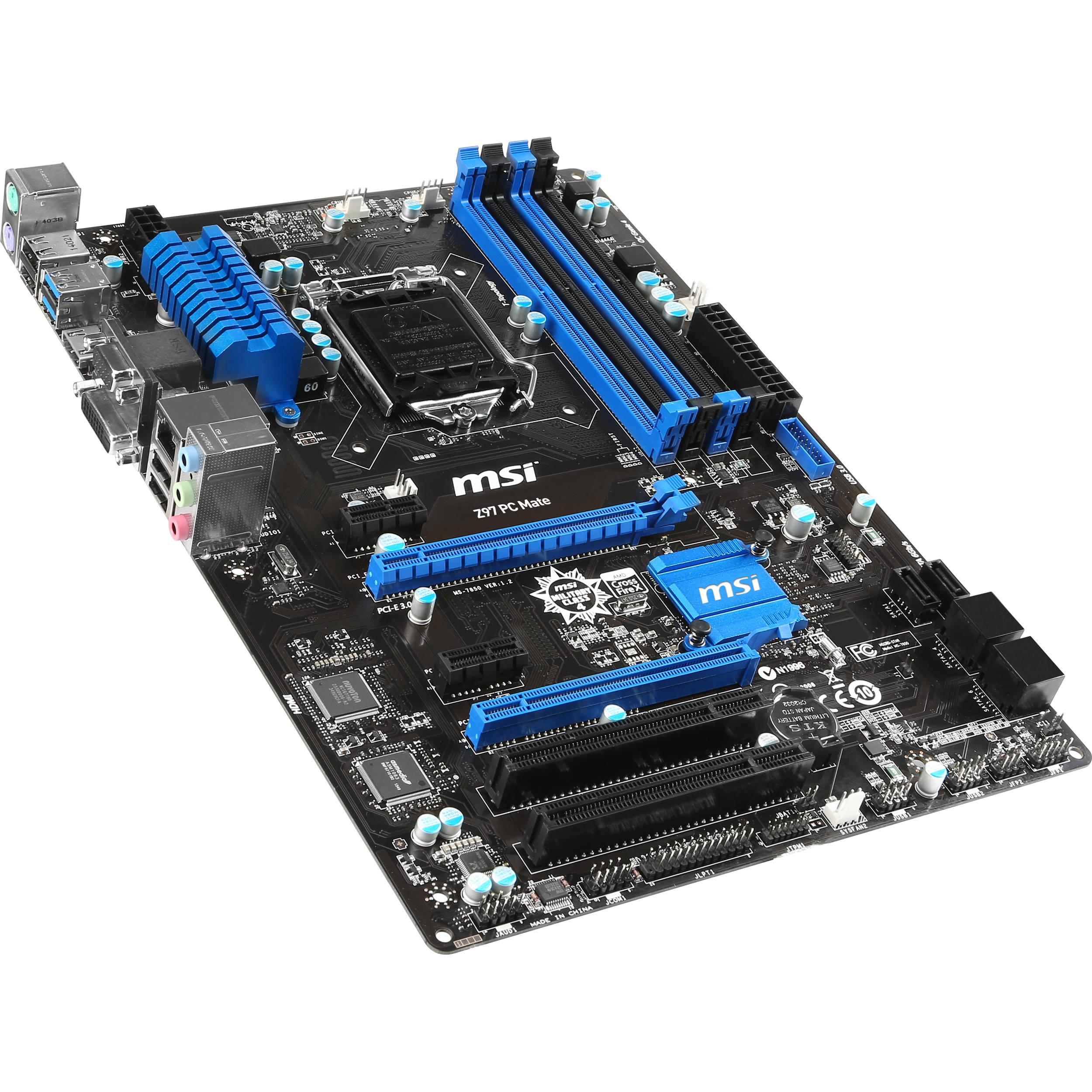 MSI Z97 PC MATE Motherboard