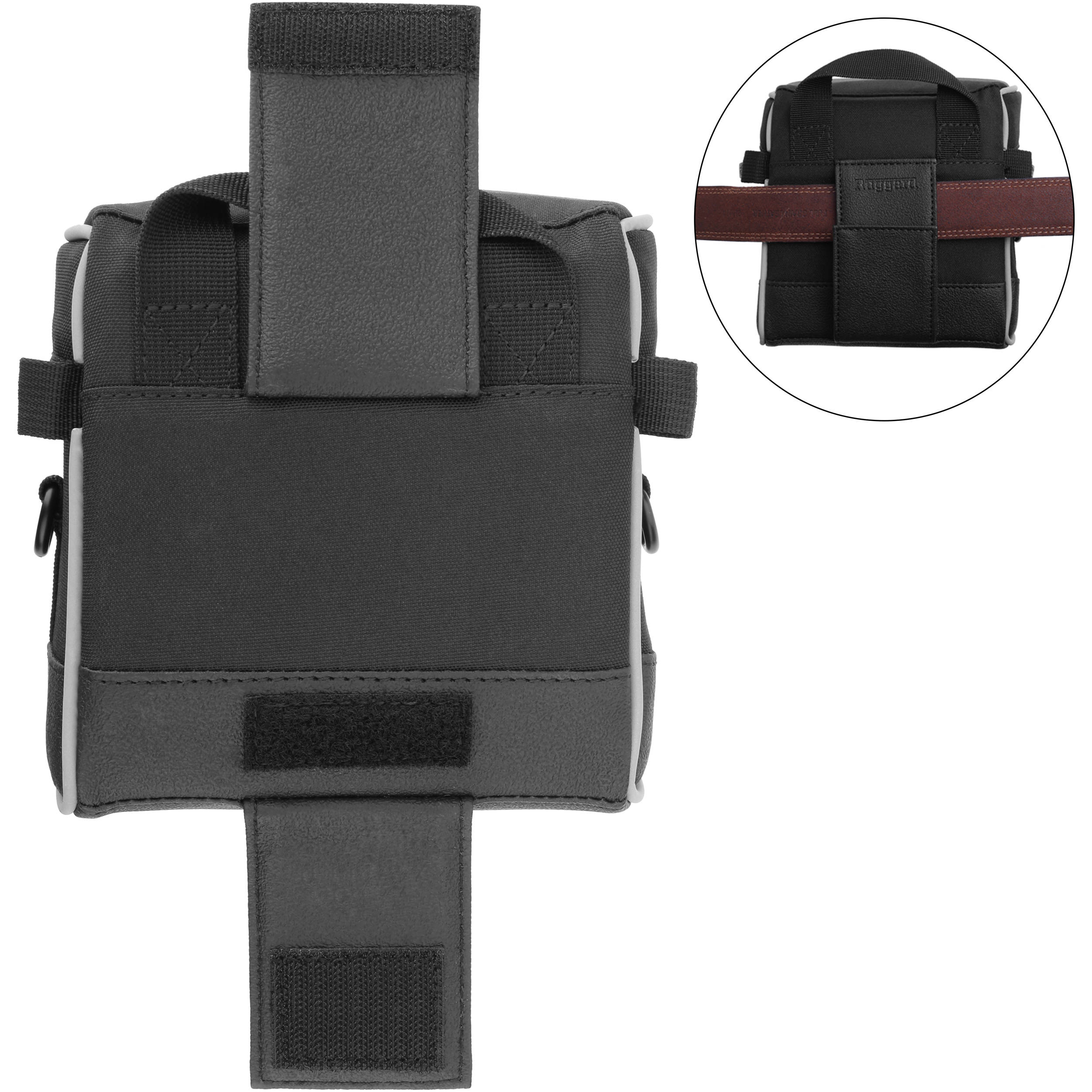 Black 2 Pack Ruggard Lens Case 10.5 x 4.5