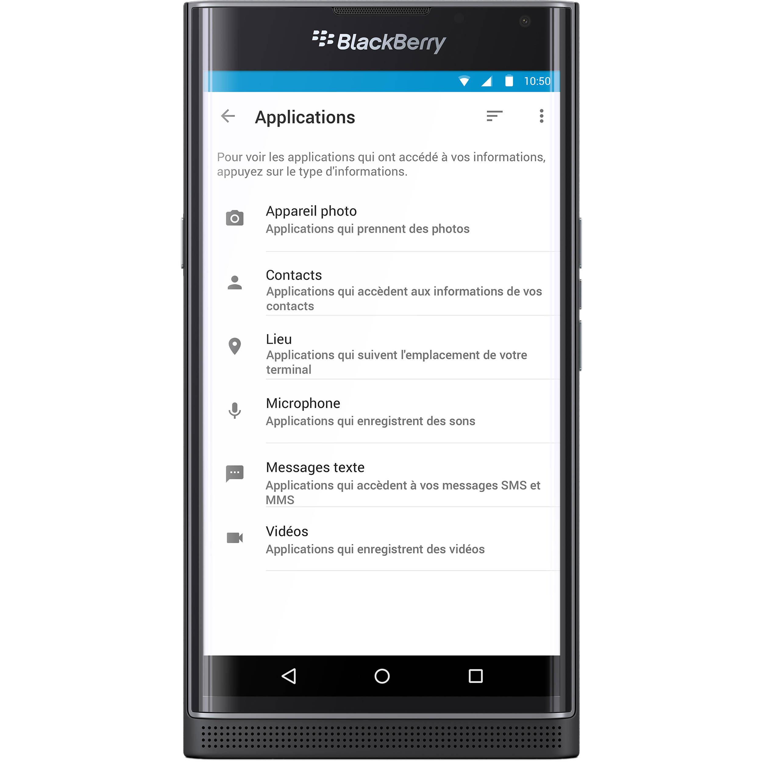 Priv BlackBerry 32GB Smartphone (Unlocked, Black)