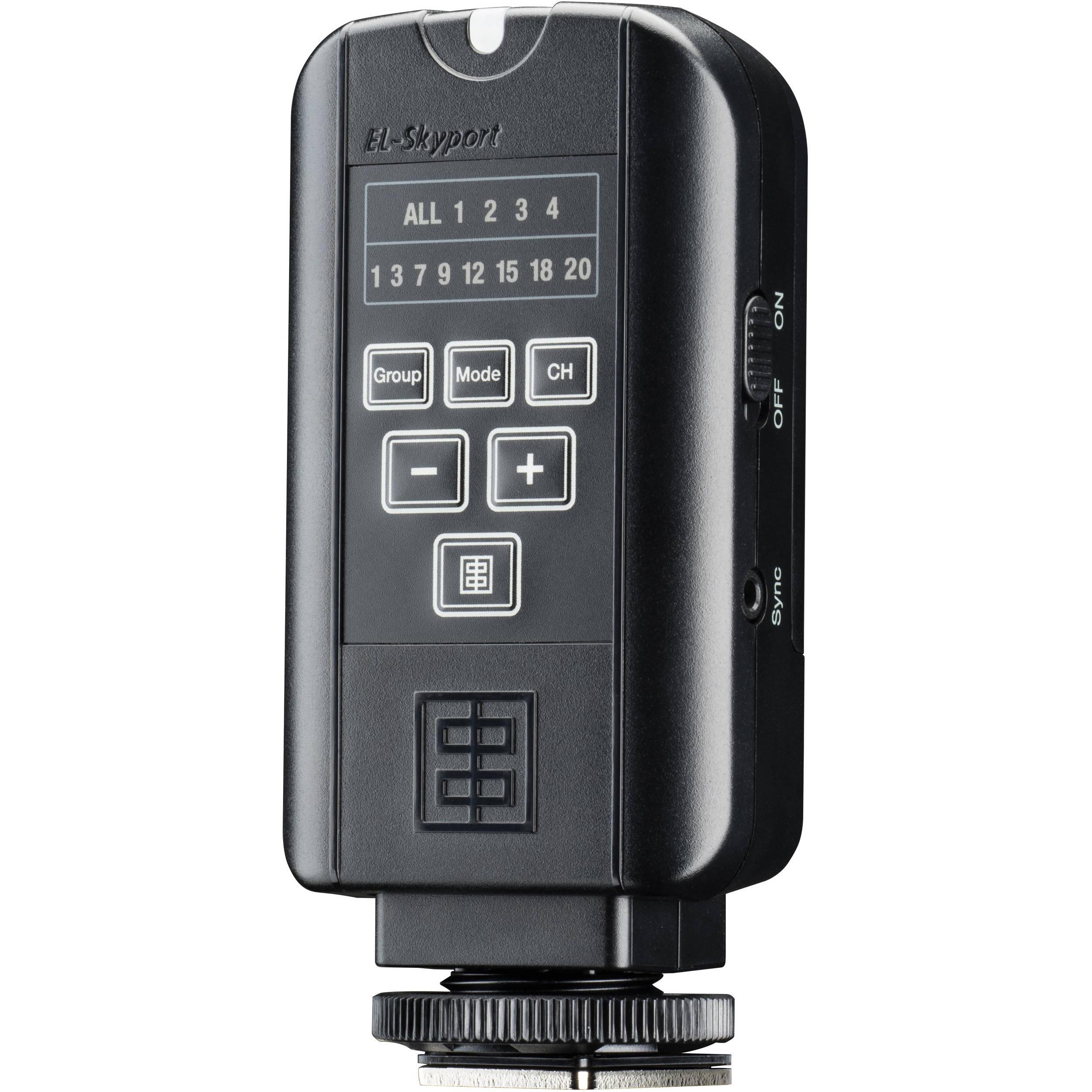 Elinchrom EL-Skyport Transmitter Plus #EL19368 Camera Flash Trigger ELSP-T