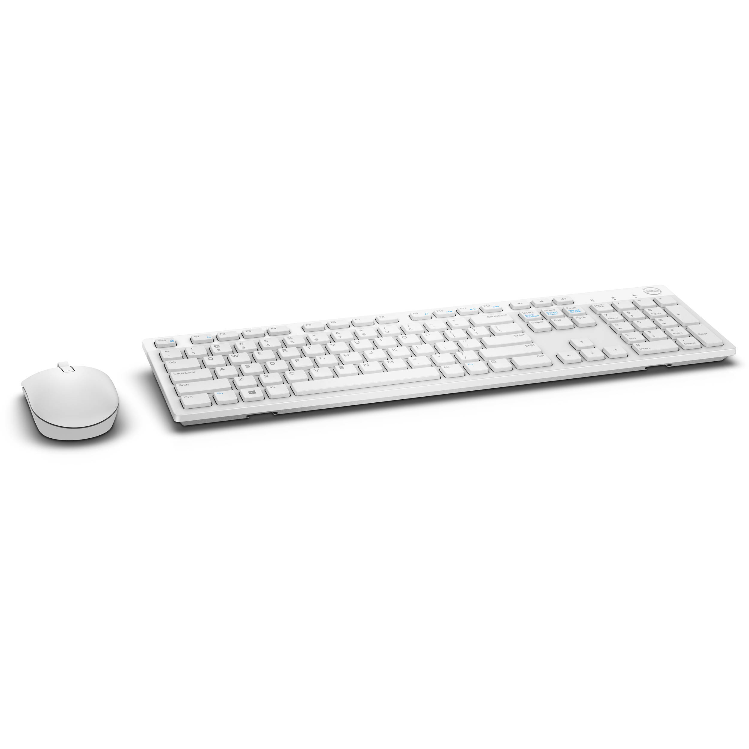 Dell KM636 Wireless Keyboard and Mouse (White)