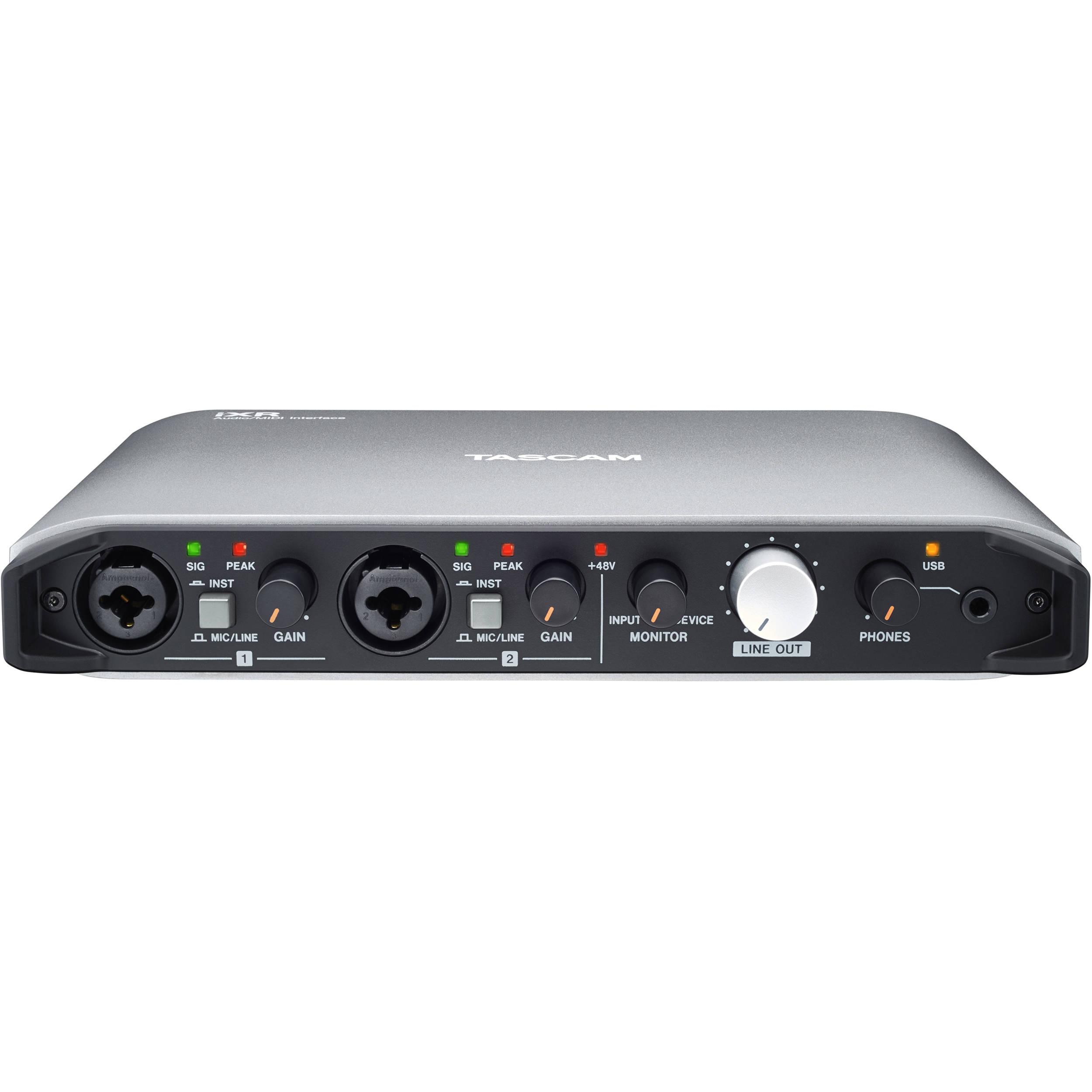 Tascam iXR USB Audio/MIDI Interface With iOS Connectivity