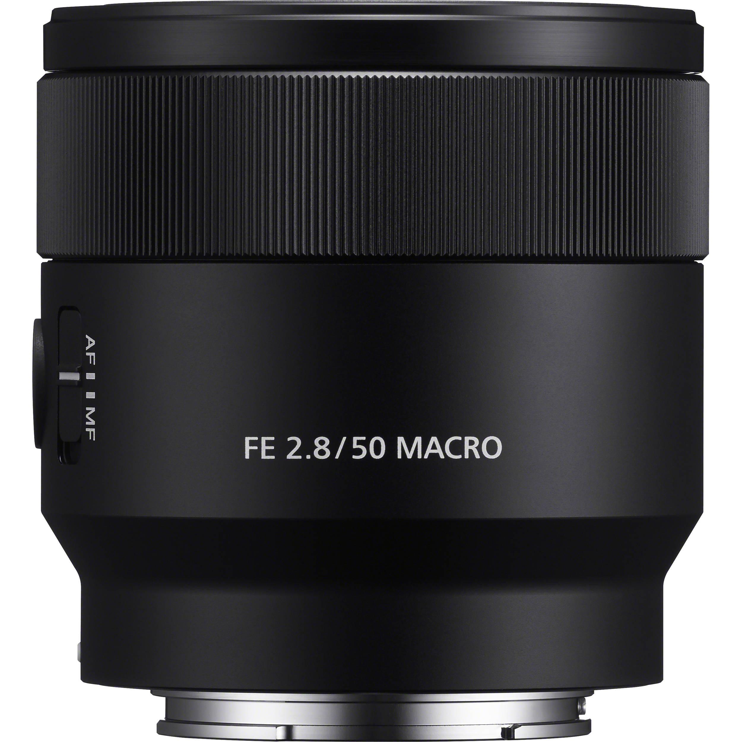 Sony FE 50mm f/2 8 Macro Lens