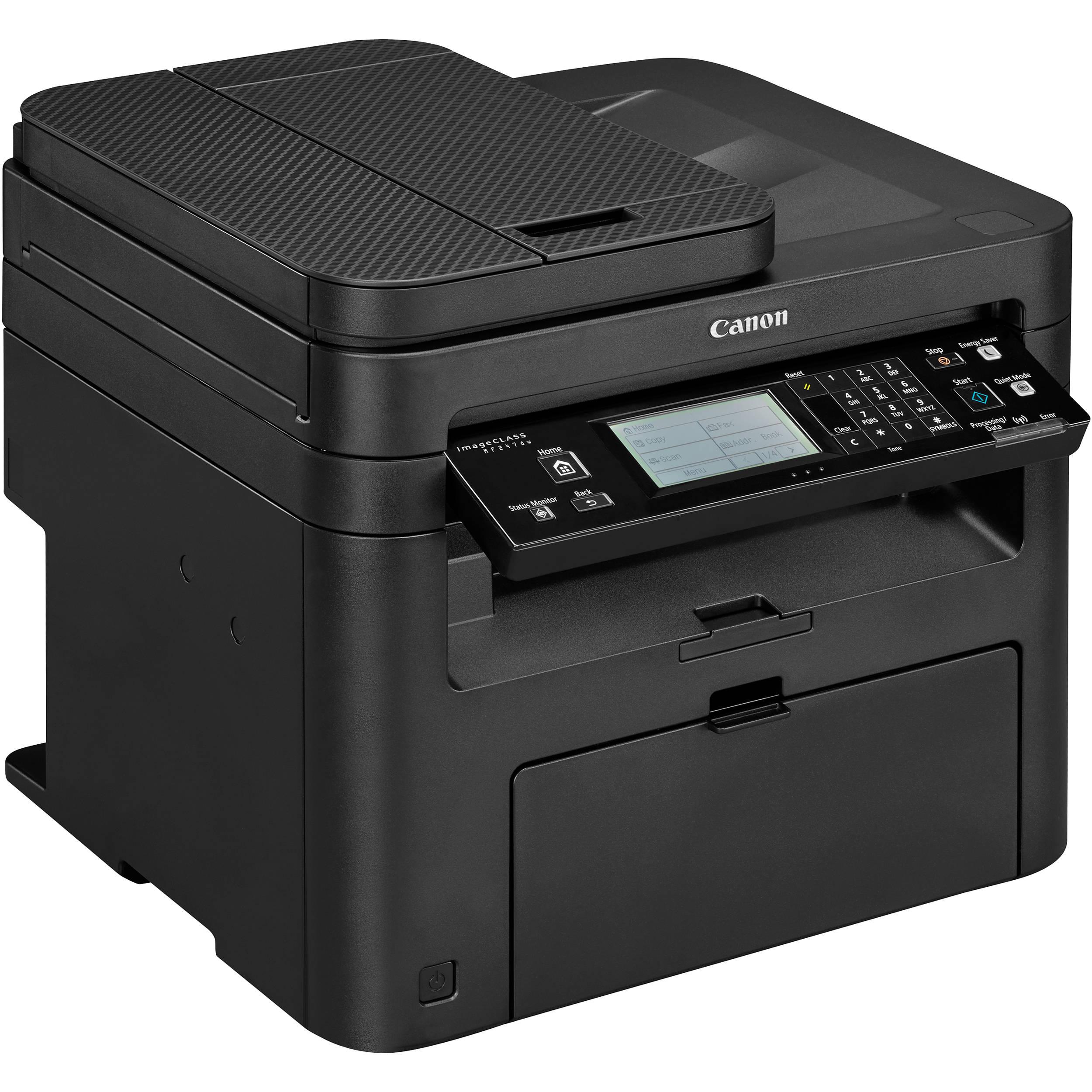 Canon imageCLASS MF247dw All-in-One Monochrome Laser Printer