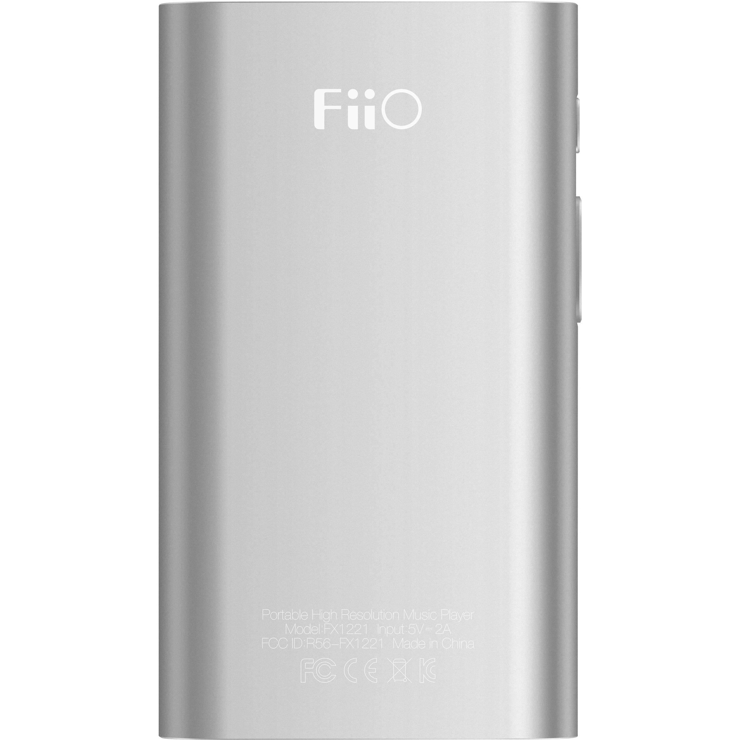 FiiO X1 2nd Generation Portable High-Resolution Lossless Music Player  (Silver)