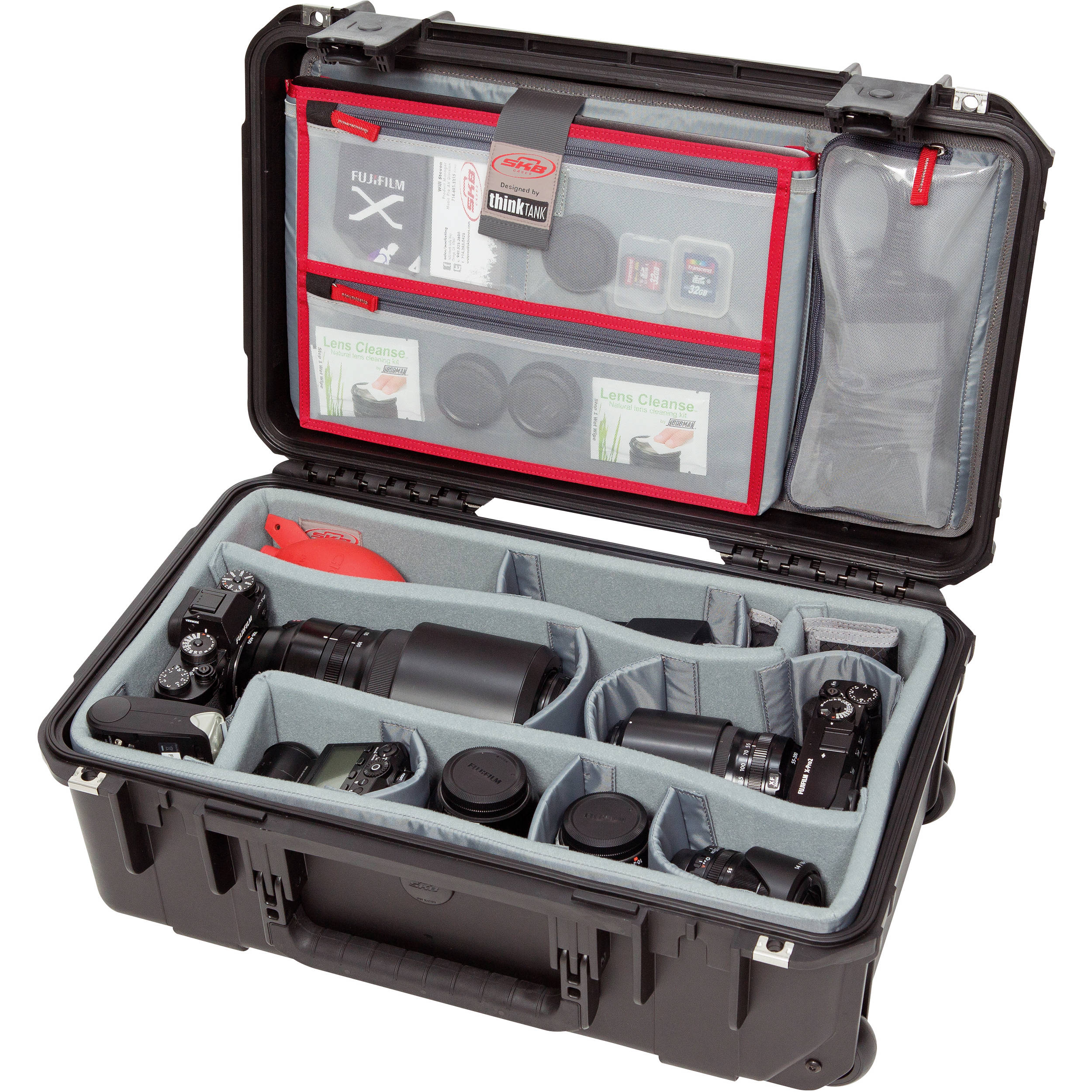 b8036638d28d SKB iSeries 2011-7 Case with Think Tank Photo Dividers & Lid Organizer  (Black)