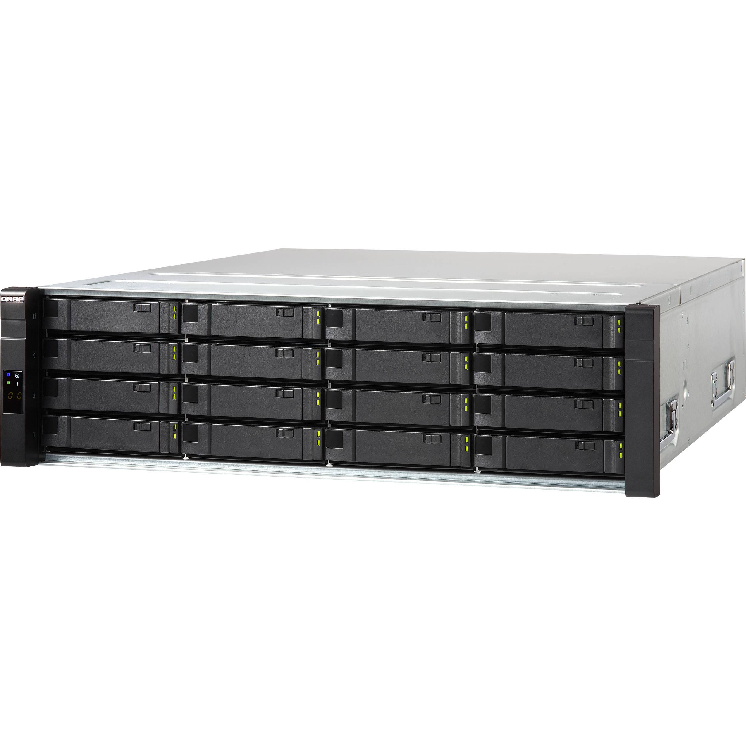 QNAP ES1640dc v2 16-Bay NAS Enclosure with Dual Active Controllers