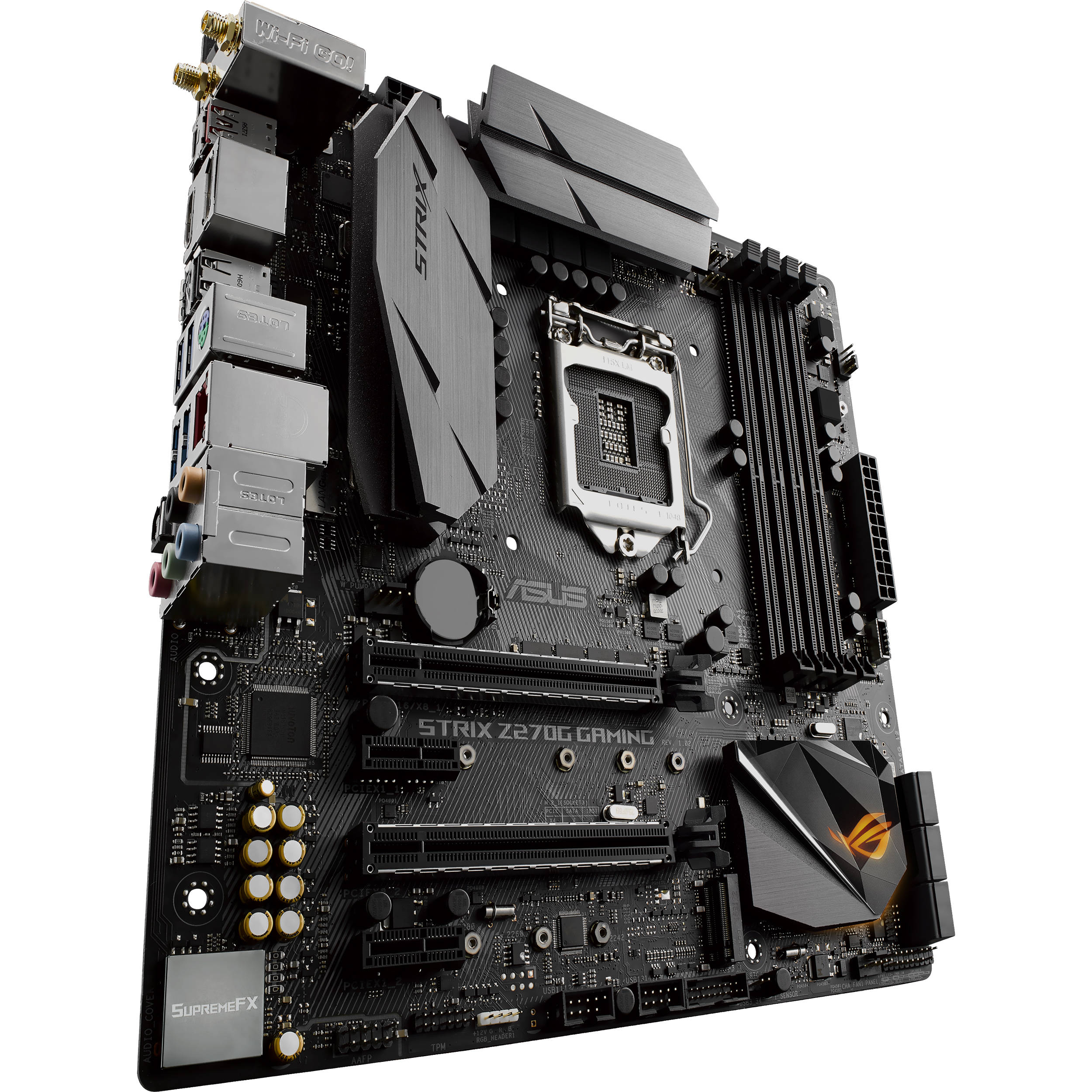 ASUS Republic of Gamers Strix Z270G Gaming LGA 1151 Micro-ATX Motherboard