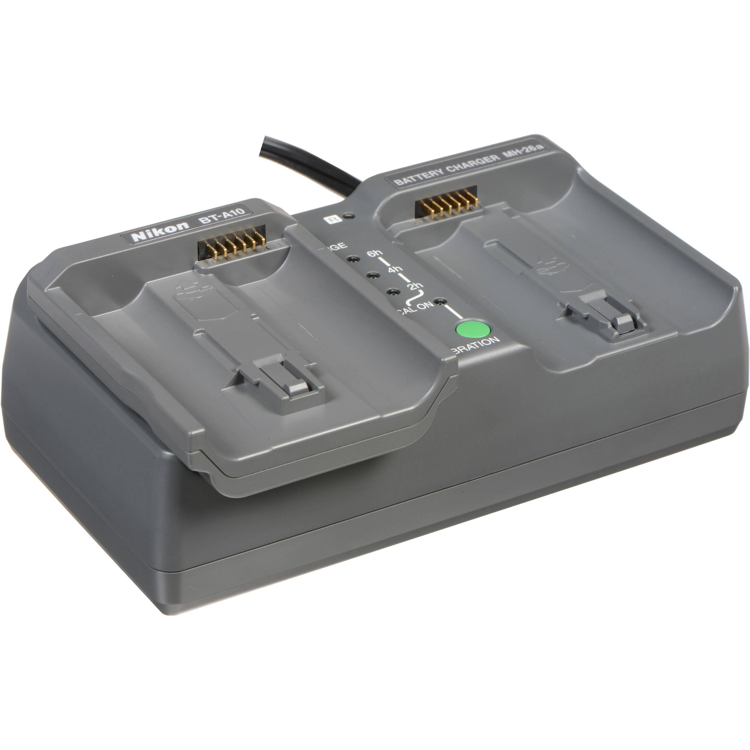 D4 DSLR Dual charger for Nikon EN-EL18 MH-26