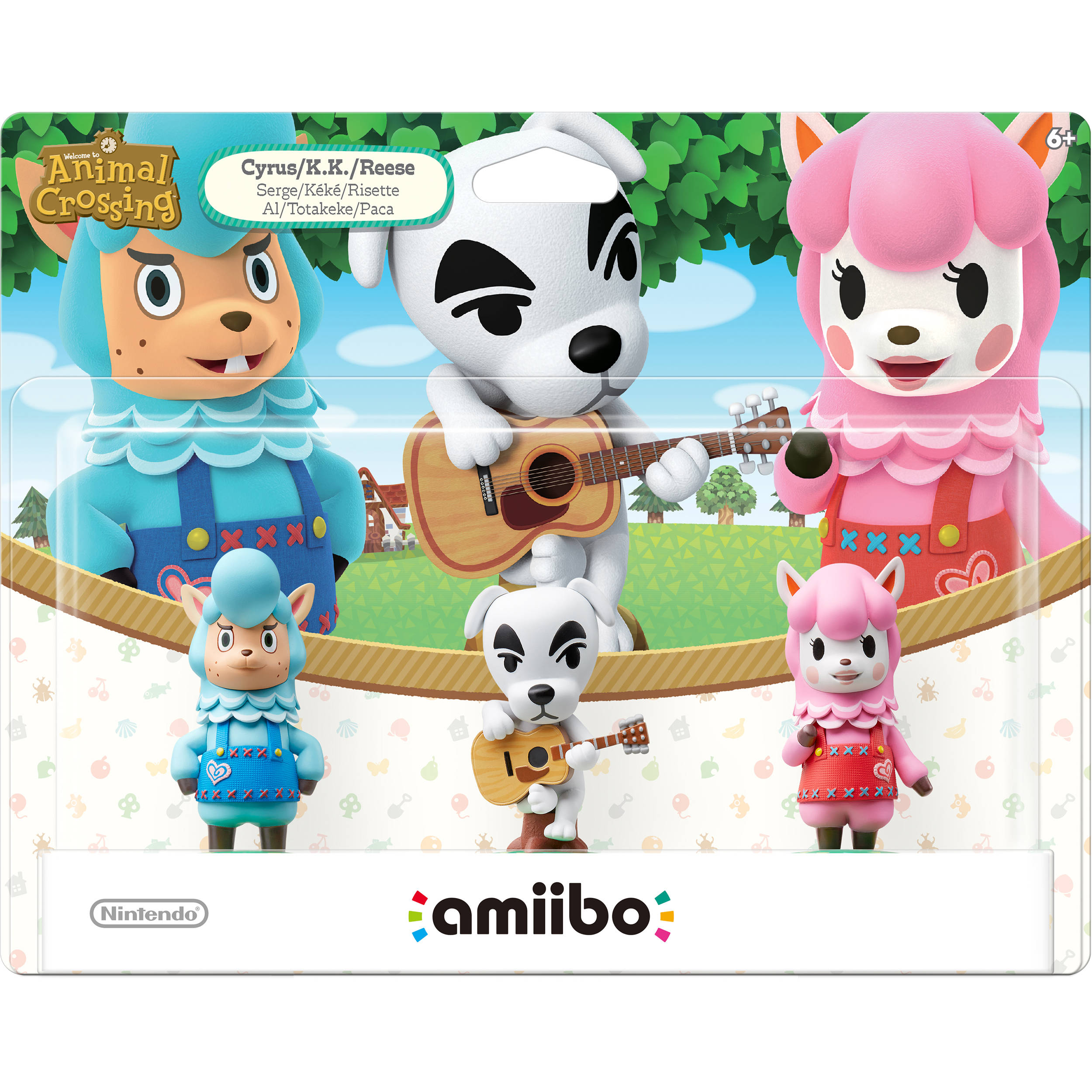 Nintendo Animal Crossing Series 3-Pack amiibo