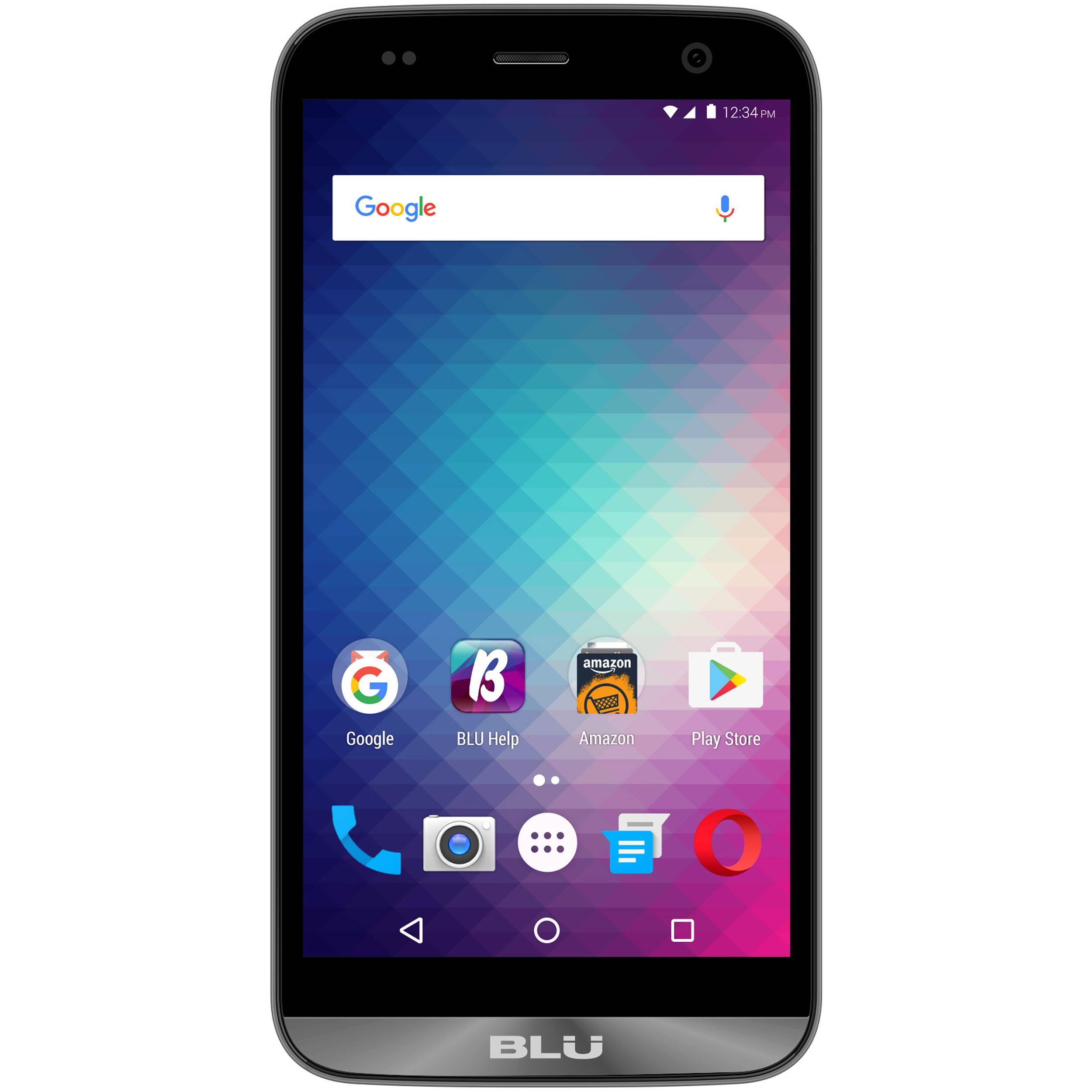 wholesale dealer 8179b e6516 BLU Dash XL D710U 8GB Smartphone (Unlocked, Gray)